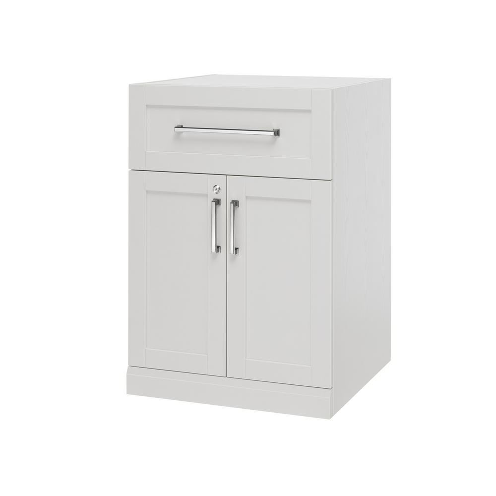 Most Popular Burn Tan Finish 2 Door Sideboards Pertaining To Newage Products Home Bar White 24 In. 2 Door With Drawer Cabinet (Gallery 9 of 20)