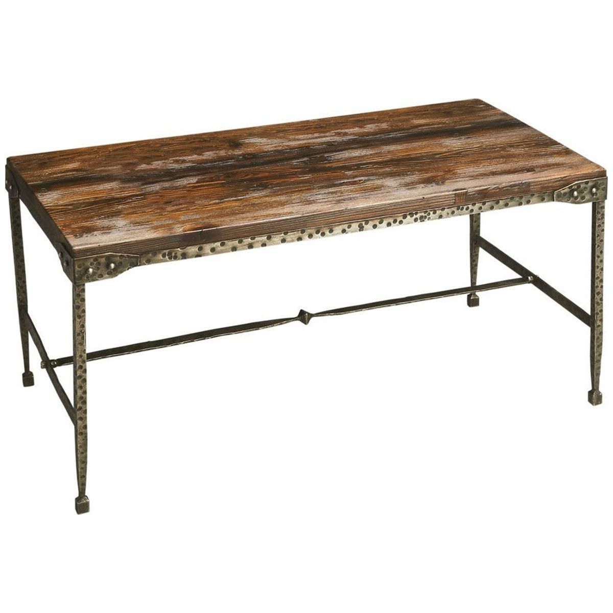Most Popular Butler Specialty Industrial Chic Cocktail Table (View 14 of 20)