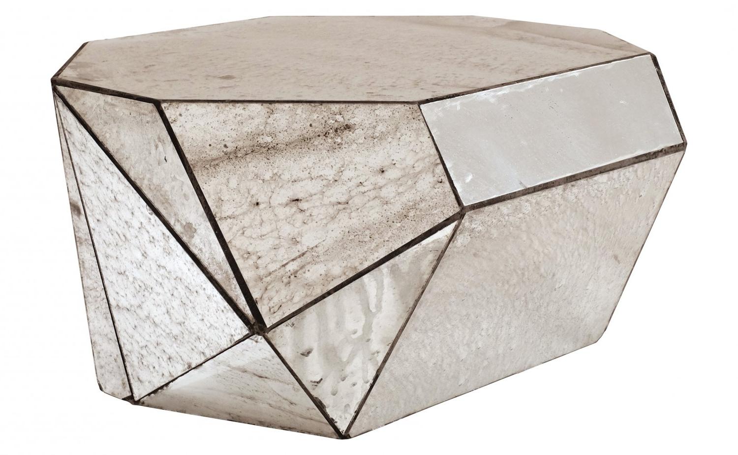 Most Popular Coffee Table Mirror – Brightonandhove1010 For Geo Faceted Coffee Tables (View 7 of 20)