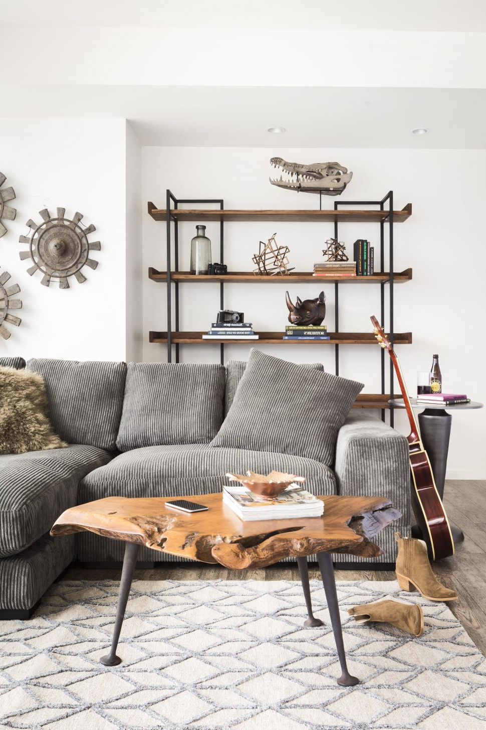 Most Popular Coffee Tables : Wrought Iron Legs Small Round Glass Top Coffee Table Throughout Modern Marble Iron Coffee Tables (View 20 of 20)