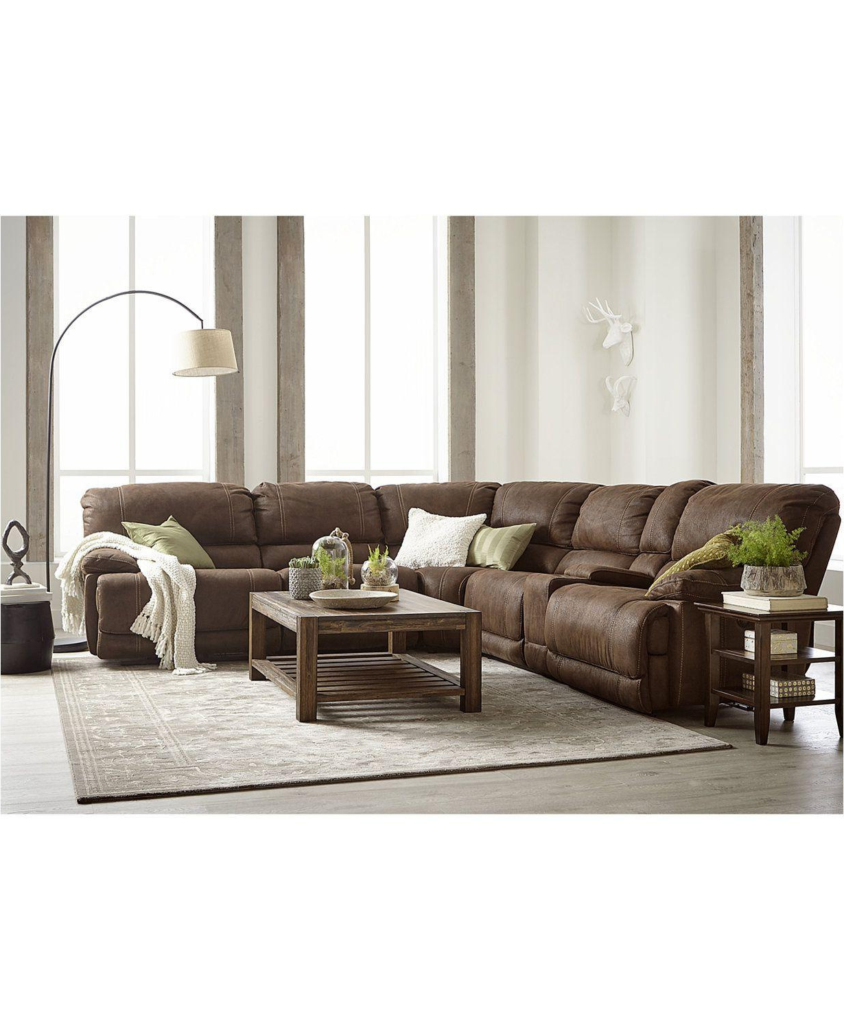 Most Popular Fabric Sectional Sofa With Power Recliner (View 14 of 20)