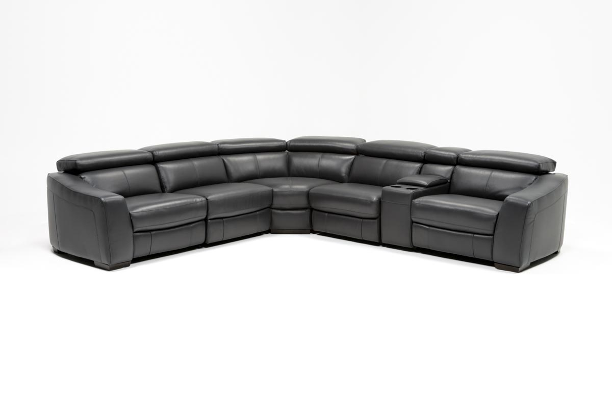Most Popular Kristen Silver Grey 6 Piece Power Reclining Sectionals In Kristen Slate Grey 6 Piece Power Reclining Sectional (View 9 of 20)