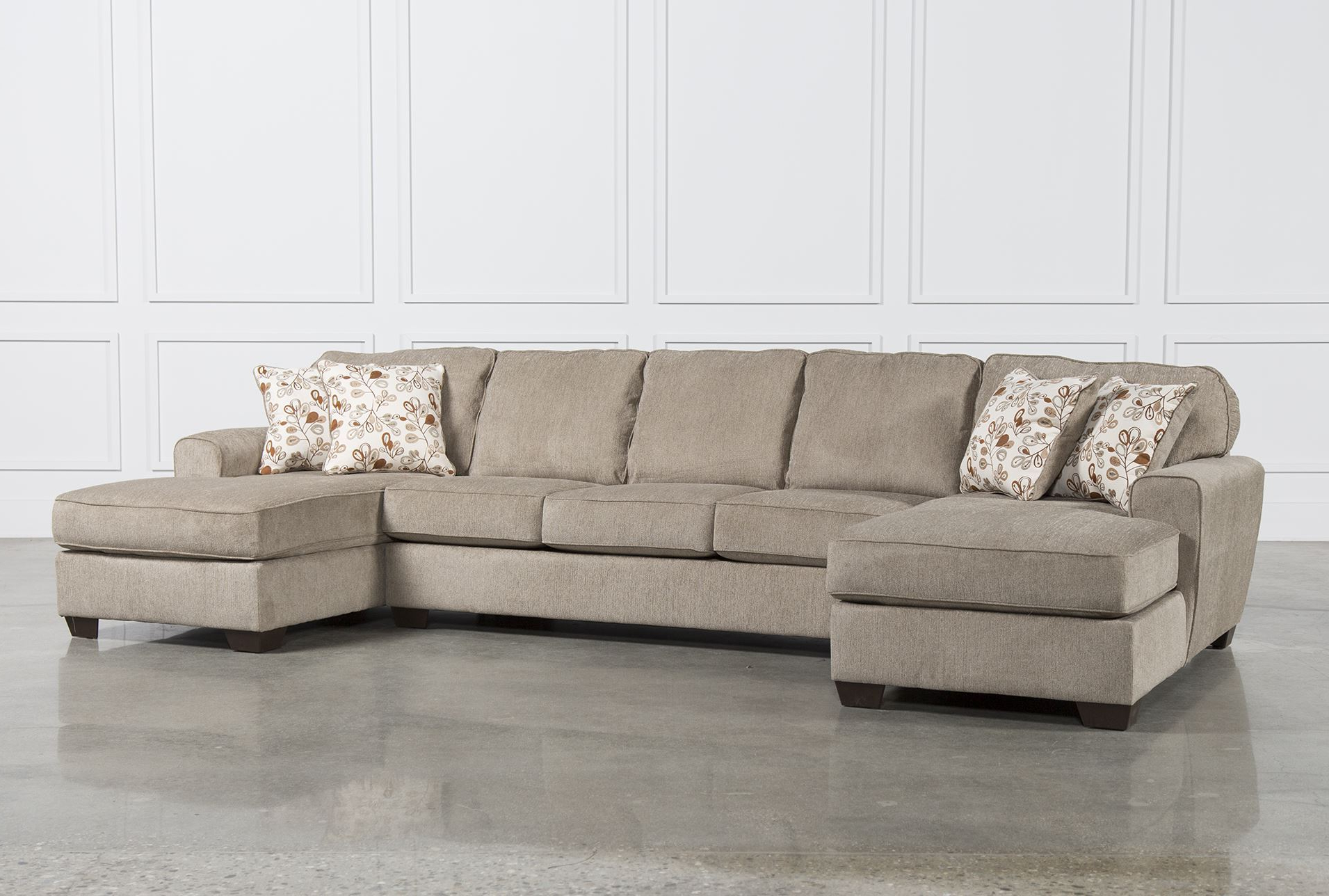 Most Popular Living Spaces Small Sectional Sofas – Sofa Design Ideas Inside Avery 2 Piece Sectionals With Raf Armless Chaise (View 8 of 20)