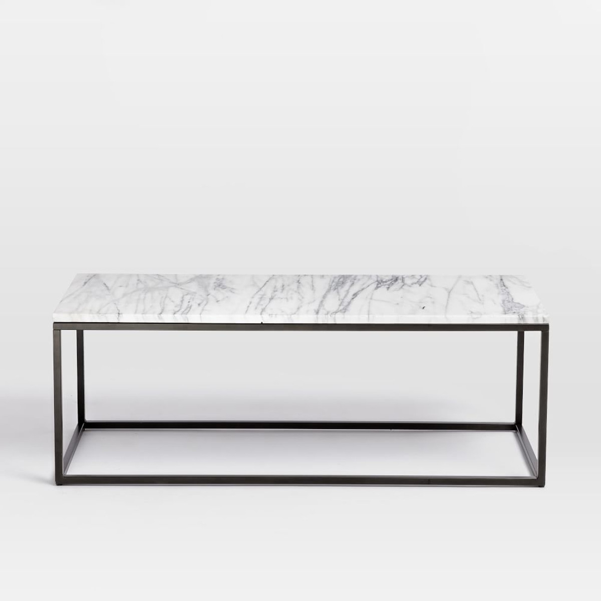 Most Popular Marble Coffee Table West Elm – Marble Coffee Table: Elegant Table To Inside Slab Large Marble Coffee Tables With Brass Base (View 4 of 20)