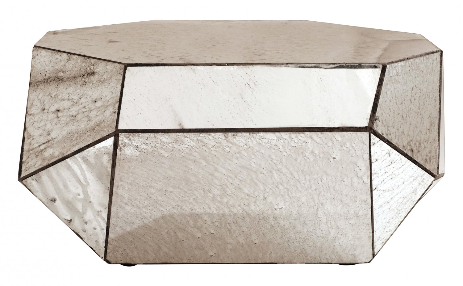 Most Popular Mirror Coffee Table – Coffee Drinker Throughout Geo Faceted Coffee Tables (View 6 of 20)