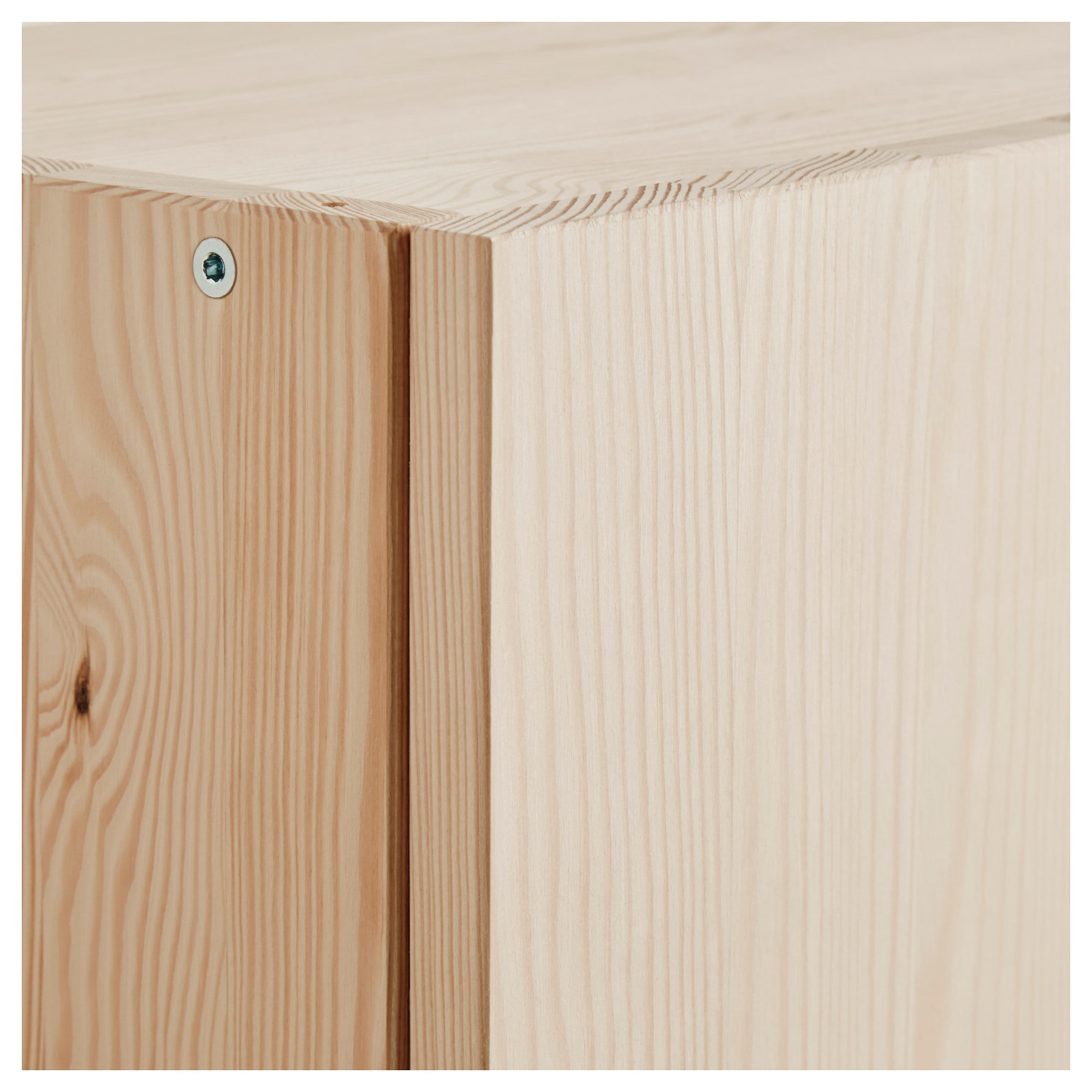"""Most Popular Oil Pale Finish 3 Door Sideboards With Regard To Ivar Cabinet – 32x12x33 """" – Ikea (View 8 of 20)"""