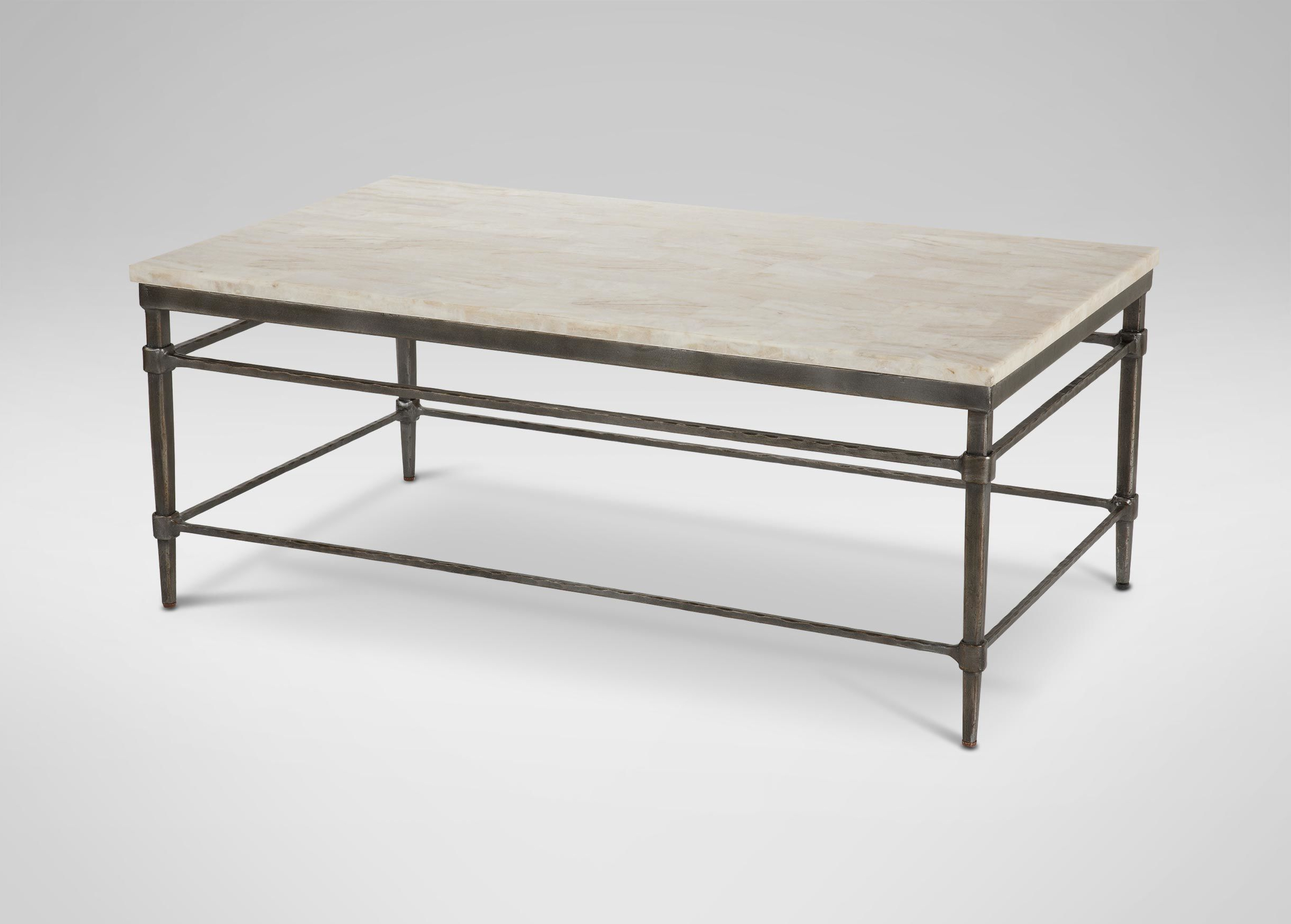 Most Popular Vida Large Stone Top Coffee Table (View 9 of 20)