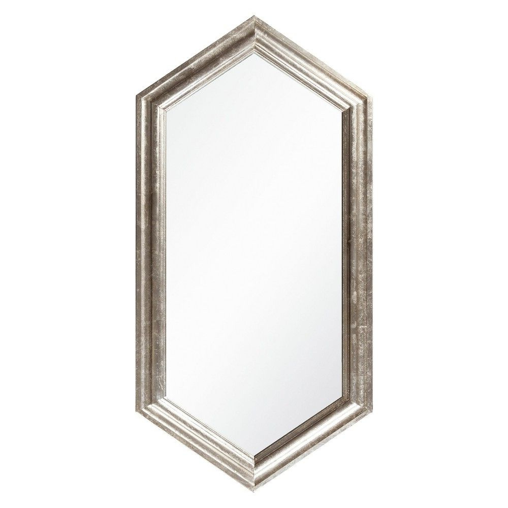 Most Popular Zeema Sideboards Throughout Surya Gavell Decorative Wall Mirror Champagne (View 10 of 20)