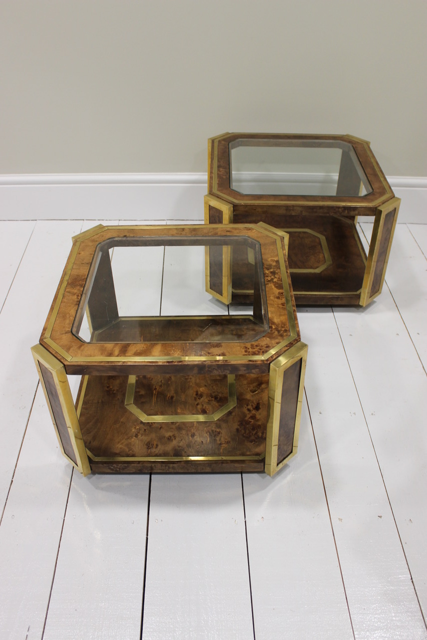 Most Recent A Pair Of Spanish Burr Walnut Occasional Or Coffee Tables, 1970S Regarding Spanish Coffee Tables (Gallery 12 of 20)