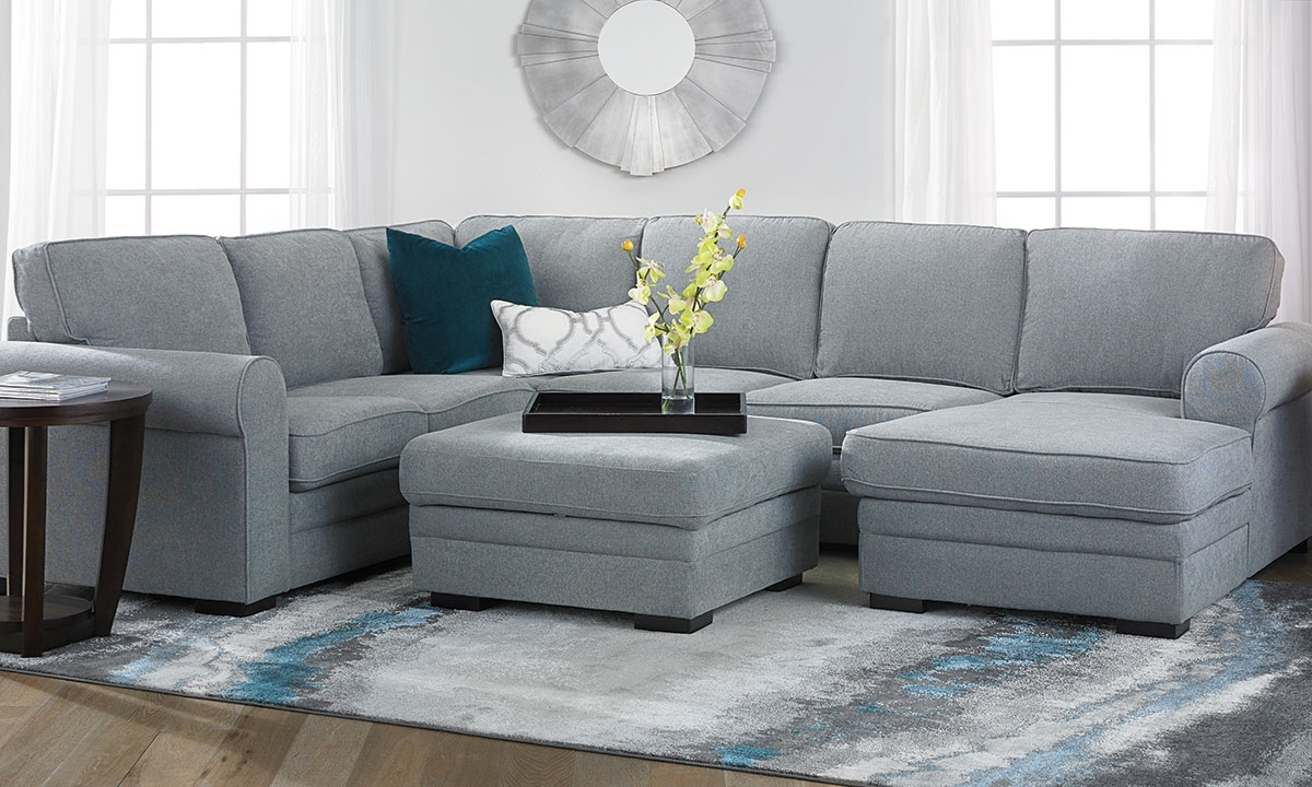 Most Recent Abigale Roll Arm Sleeper Sectional With Storage Chaise (View 5 of 20)