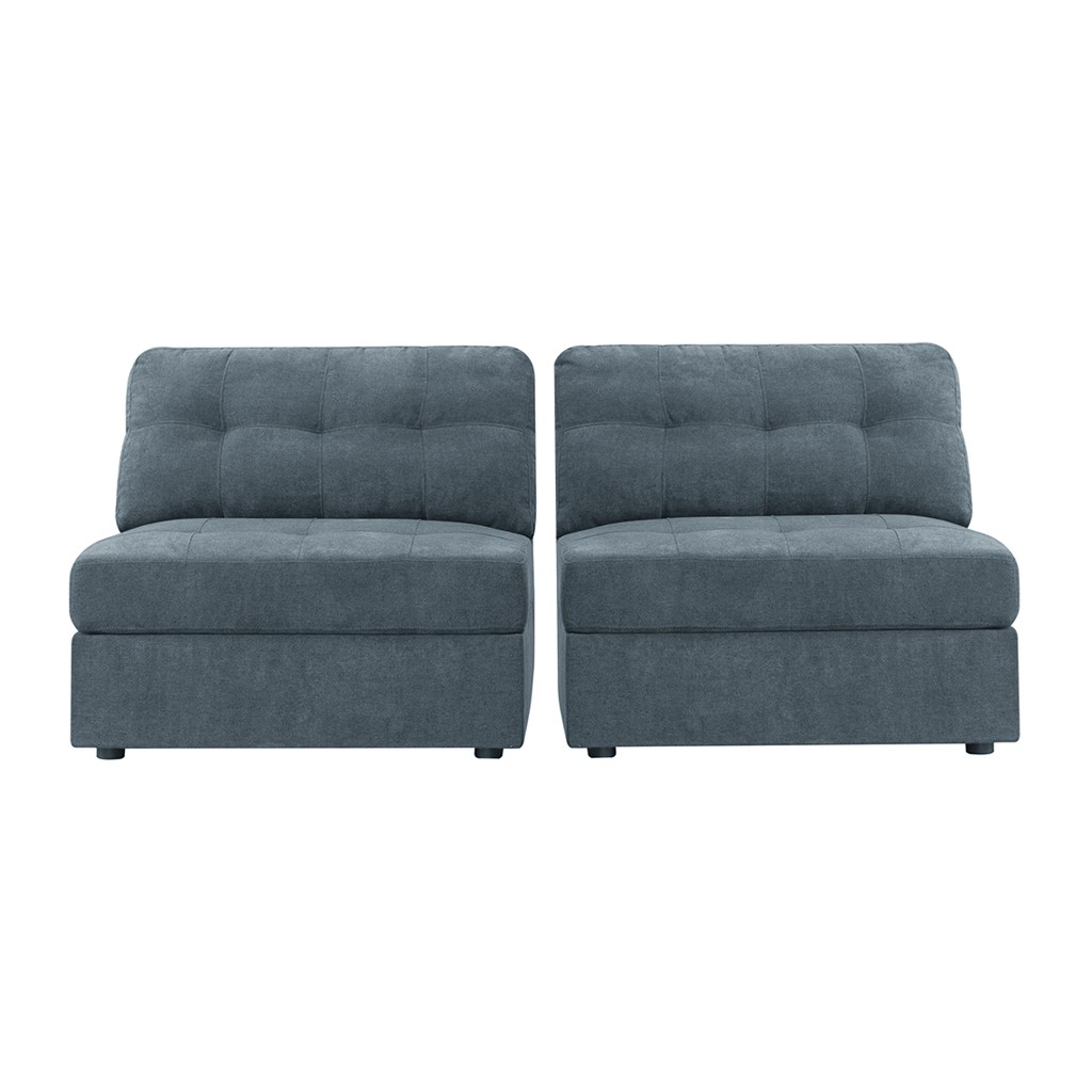 Most Recent Armless Sectional Pieces – Arm Designs Inside Avery 2 Piece Sectionals With Raf Armless Chaise (View 5 of 20)