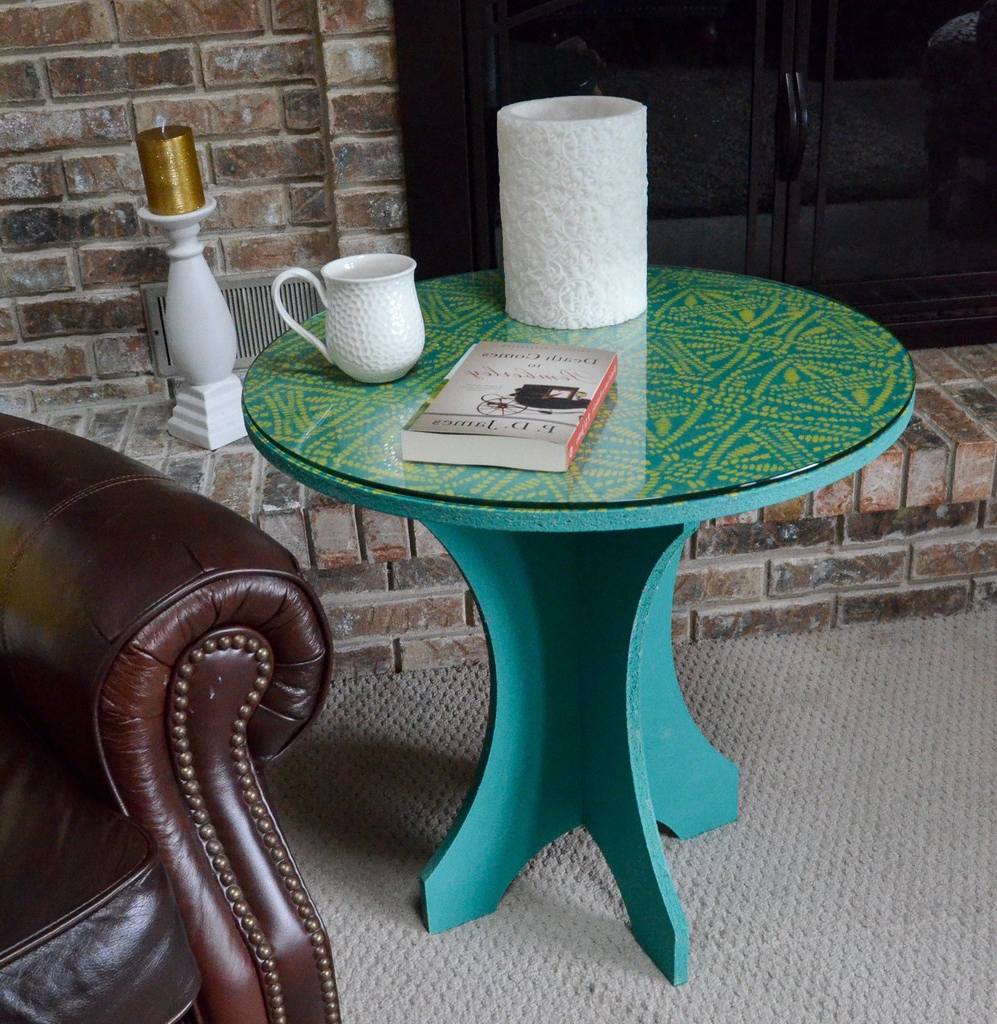 Most Recent Batik Coffee Tables With Regard To Tribal Batik Side Table – Albion Gould (View 15 of 20)