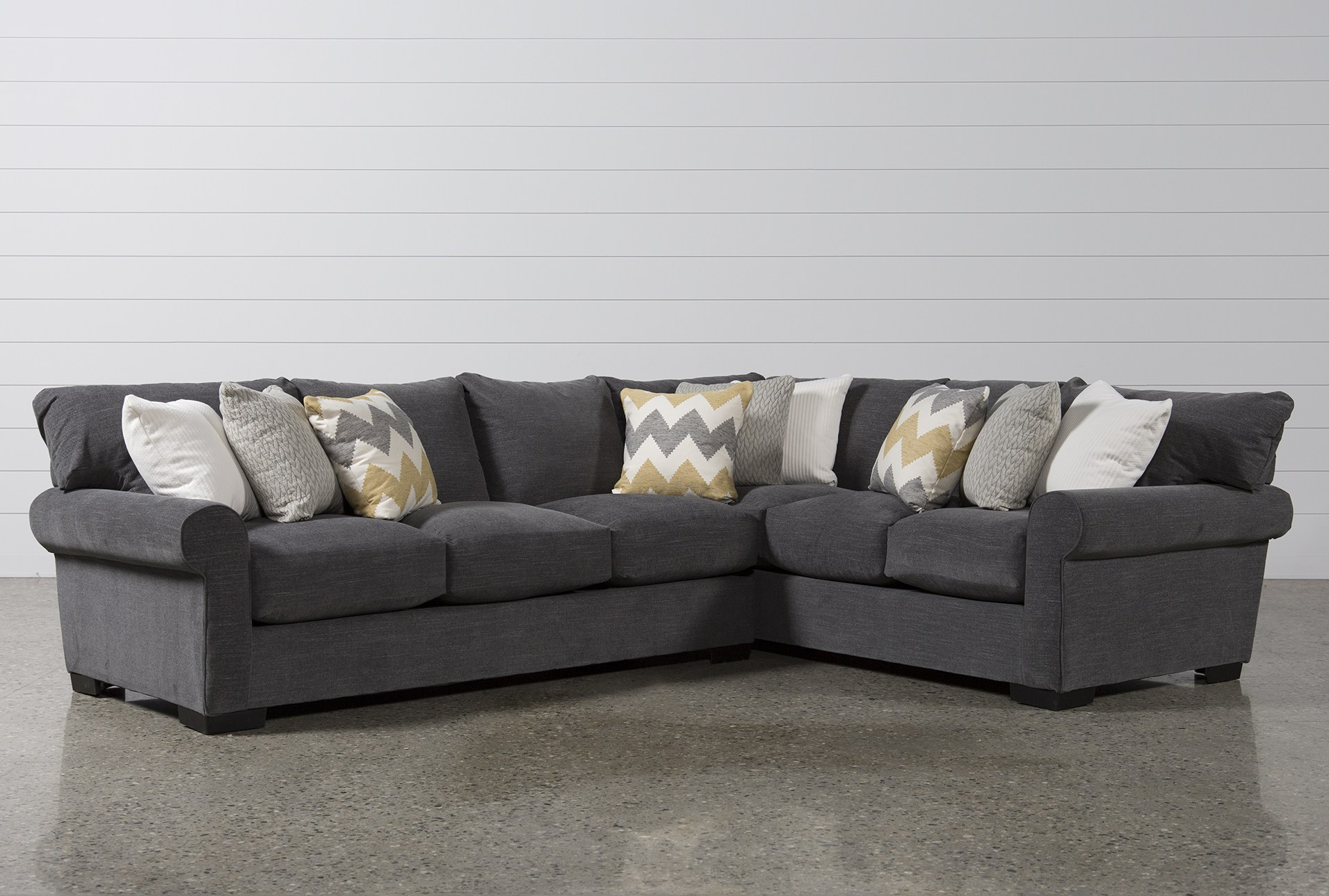 Most Recent Captivating Oversized Chaise Lounge Chair Chair Oversized Chaise With Regard To Aquarius Dark Grey 2 Piece Sectionals With Raf Chaise (View 15 of 20)