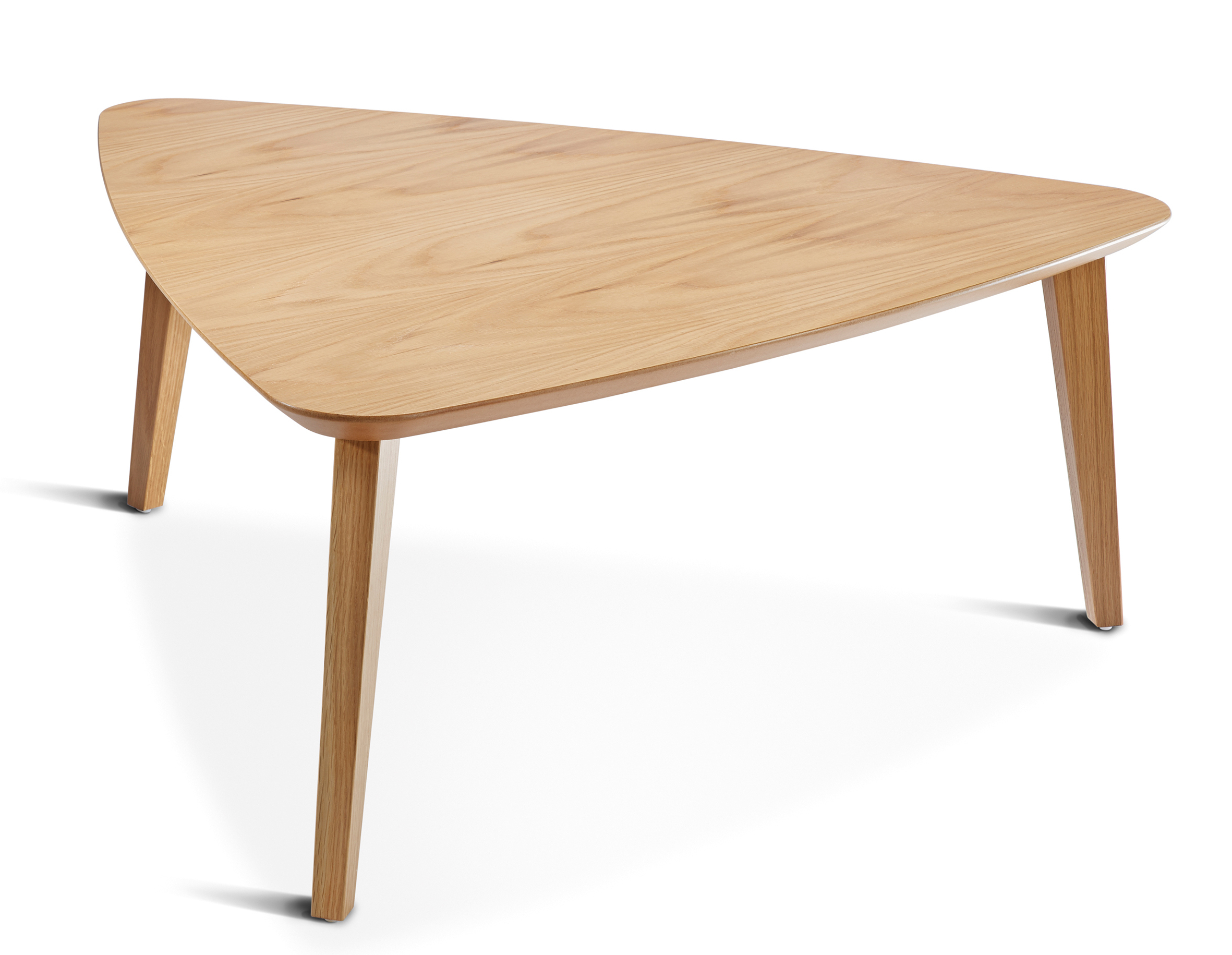 Most Recent Contemporary Curves Coffee Tables Throughout Mortimer Triangular Coffee Table – Tmoc/tri (View 19 of 20)