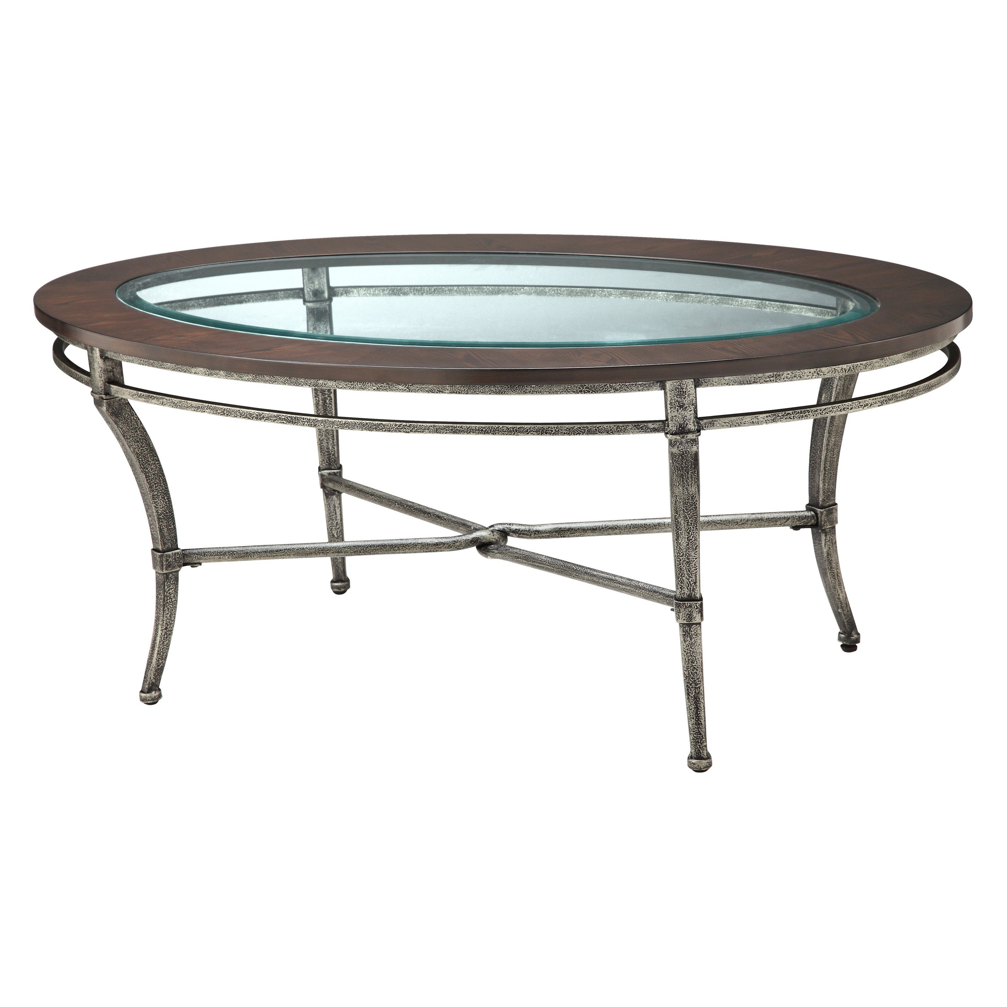 Most Recent Have To Have It. Stein World Verona Oval Metal With Wood And Glass Regarding Verona Cocktail Tables (Gallery 10 of 20)