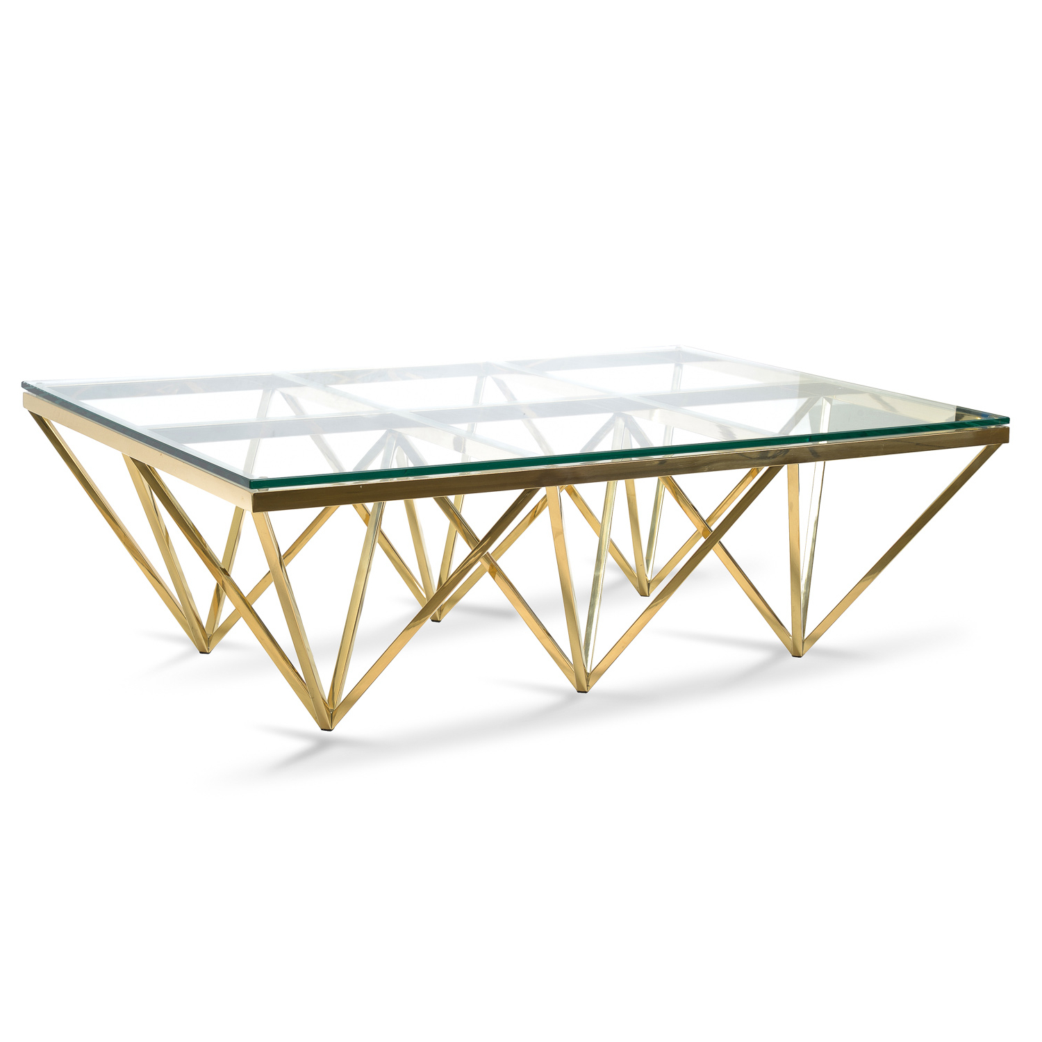 Most Recent Inverted Triangle Coffee Tables Inside Tafari  (View 9 of 20)