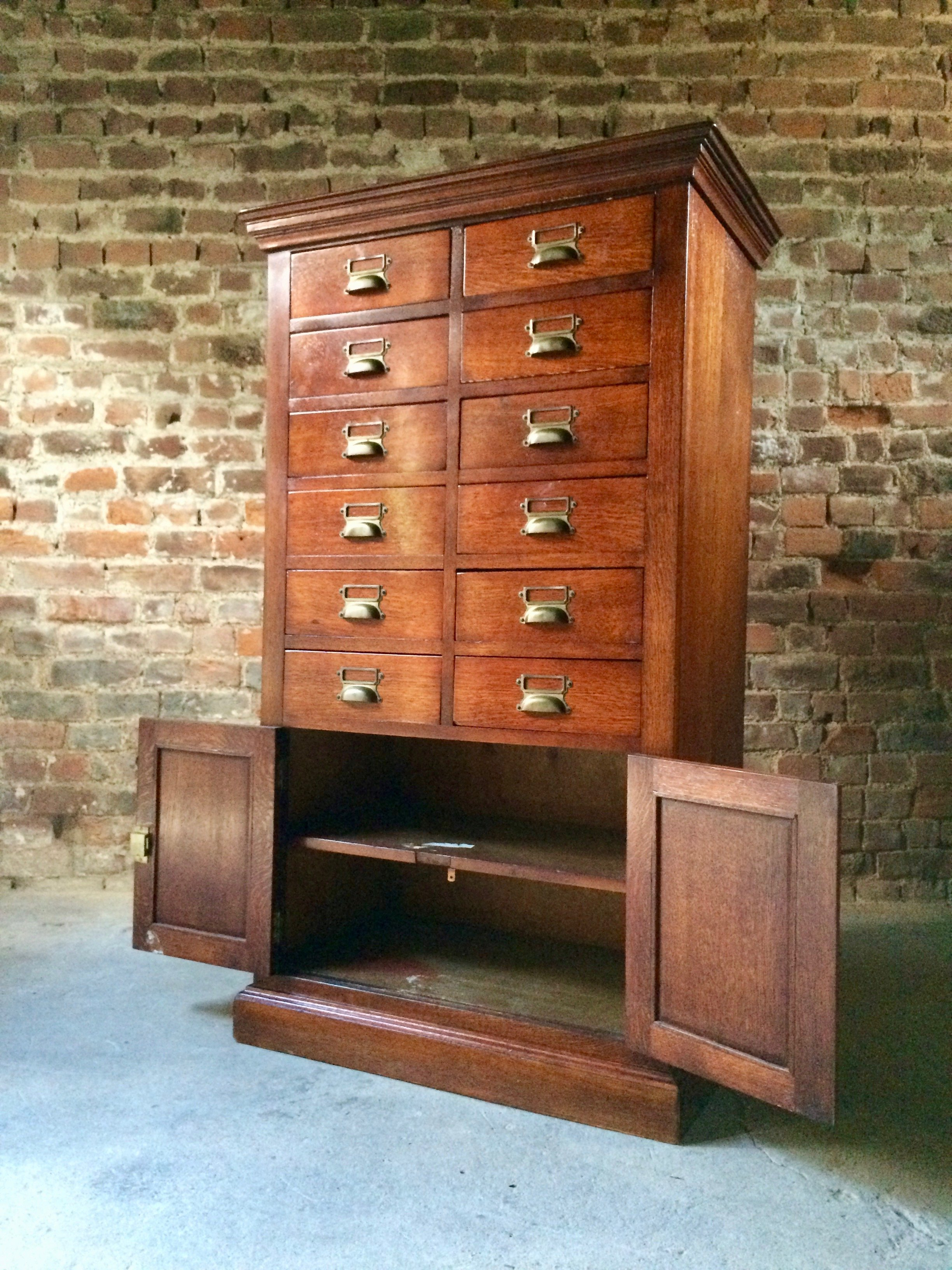 Most Recent Light Brown Reclaimed Elm & Pine 84 Inch Sideboards Inside Haberdashery Chest Of Drawers Collectors Cabinet Oak Industrial Loft (Gallery 20 of 20)