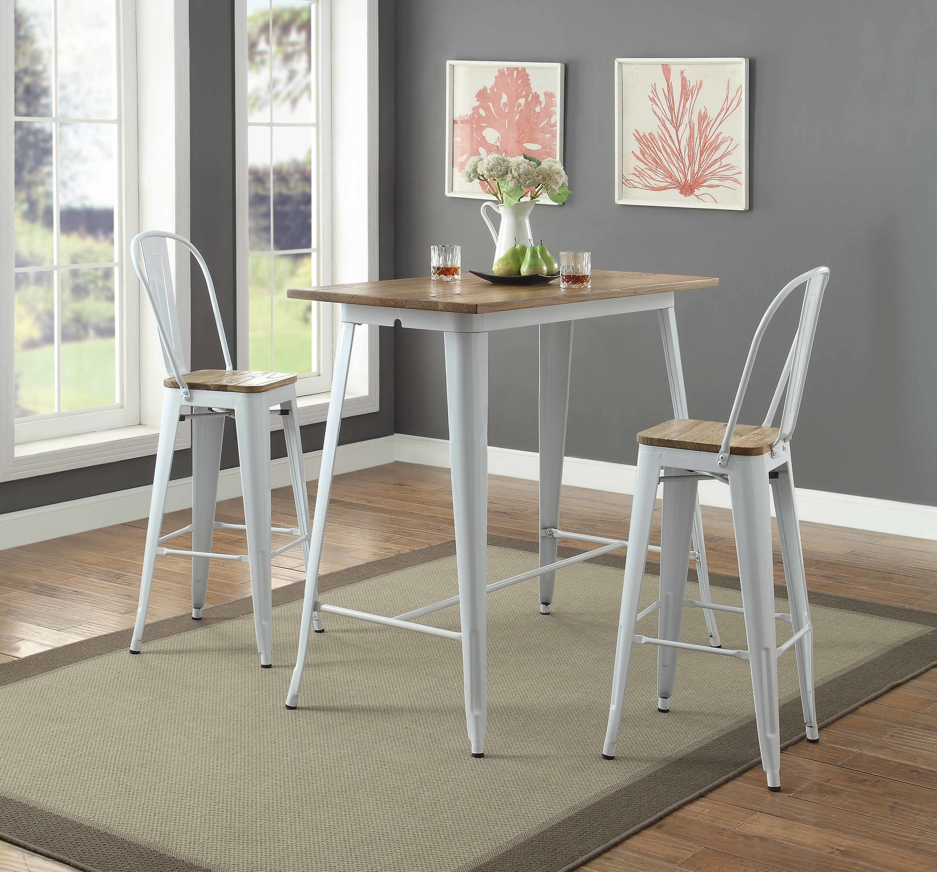 Most Recent Potomac Adjustable Coffee Tables Regarding Gracie Oaks Colten Pub Table Set & Reviews (Gallery 18 of 20)