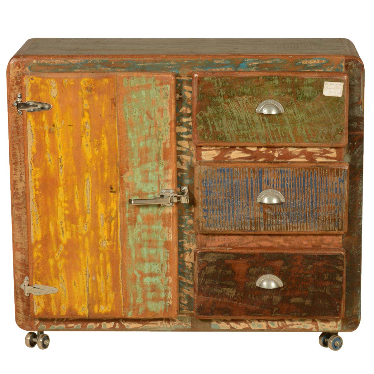 Featured Photo of Reclaimed 3 Drawer Icebox Sideboards