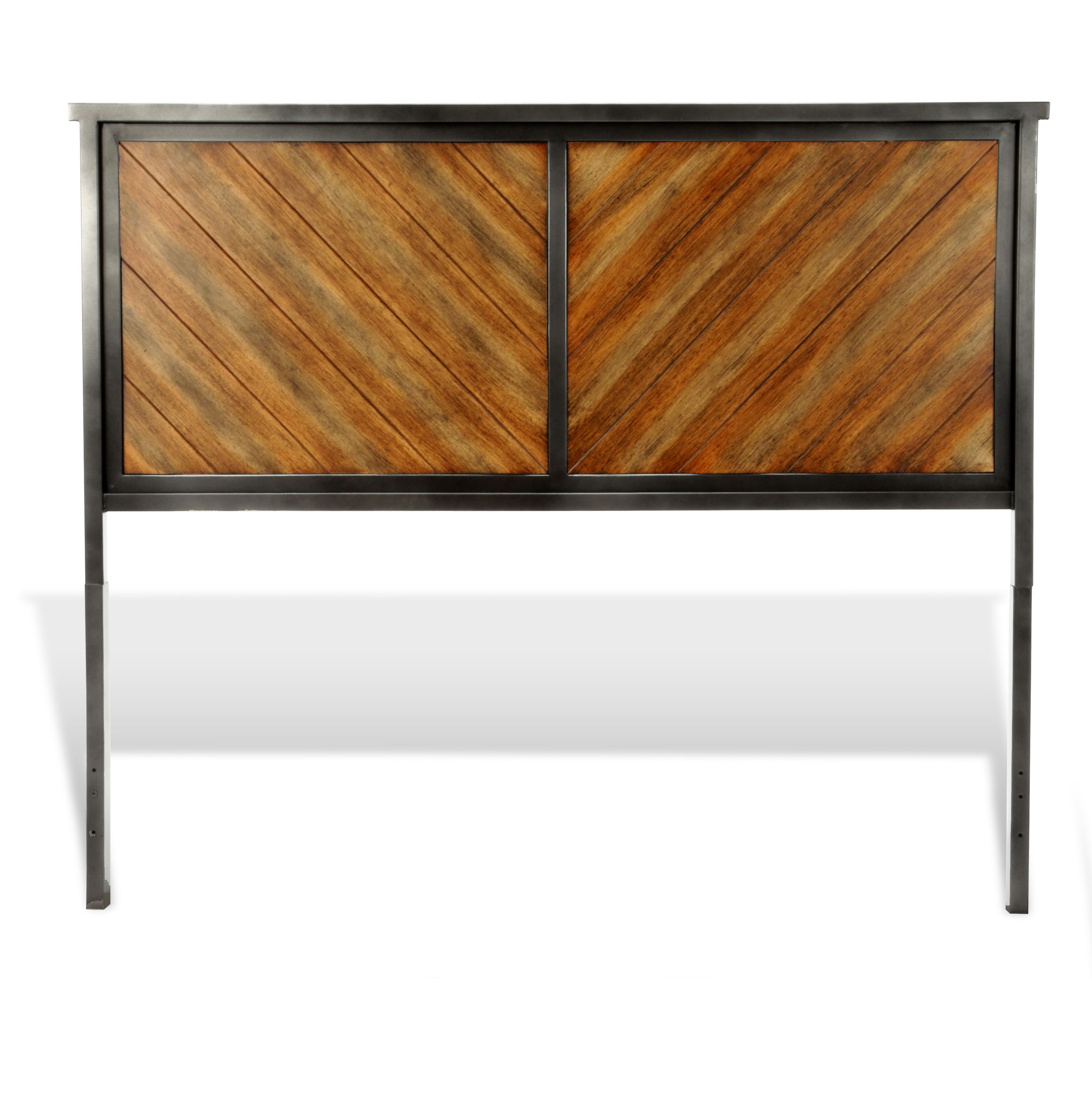 Most Recent Reclaimed Sideboards With Metal Panel Pertaining To B12444fashion Bed Group Braden Metal Headboard Panel With Reclaimed (View 6 of 20)