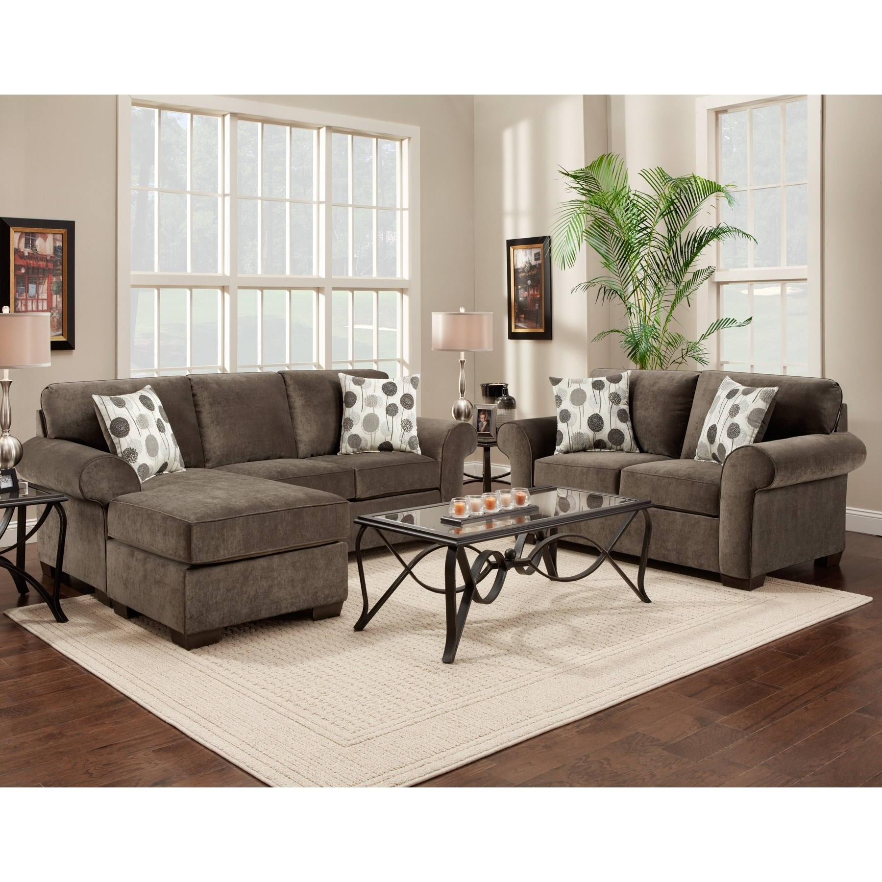 Most Recent Sectional Loveseat – Tidex With Regard To Turdur 2 Piece Sectionals With Laf Loveseat (View 9 of 20)
