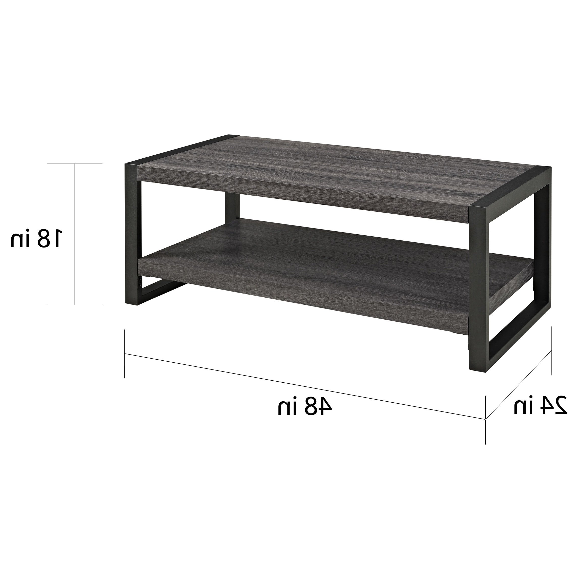 """Most Recent Shop Angelo:home 48"""" Coffee Table – 48 X 24 X 18h – On Sale – Free Throughout Chevron 48"""" Coffee Tables (View 2 of 19)"""