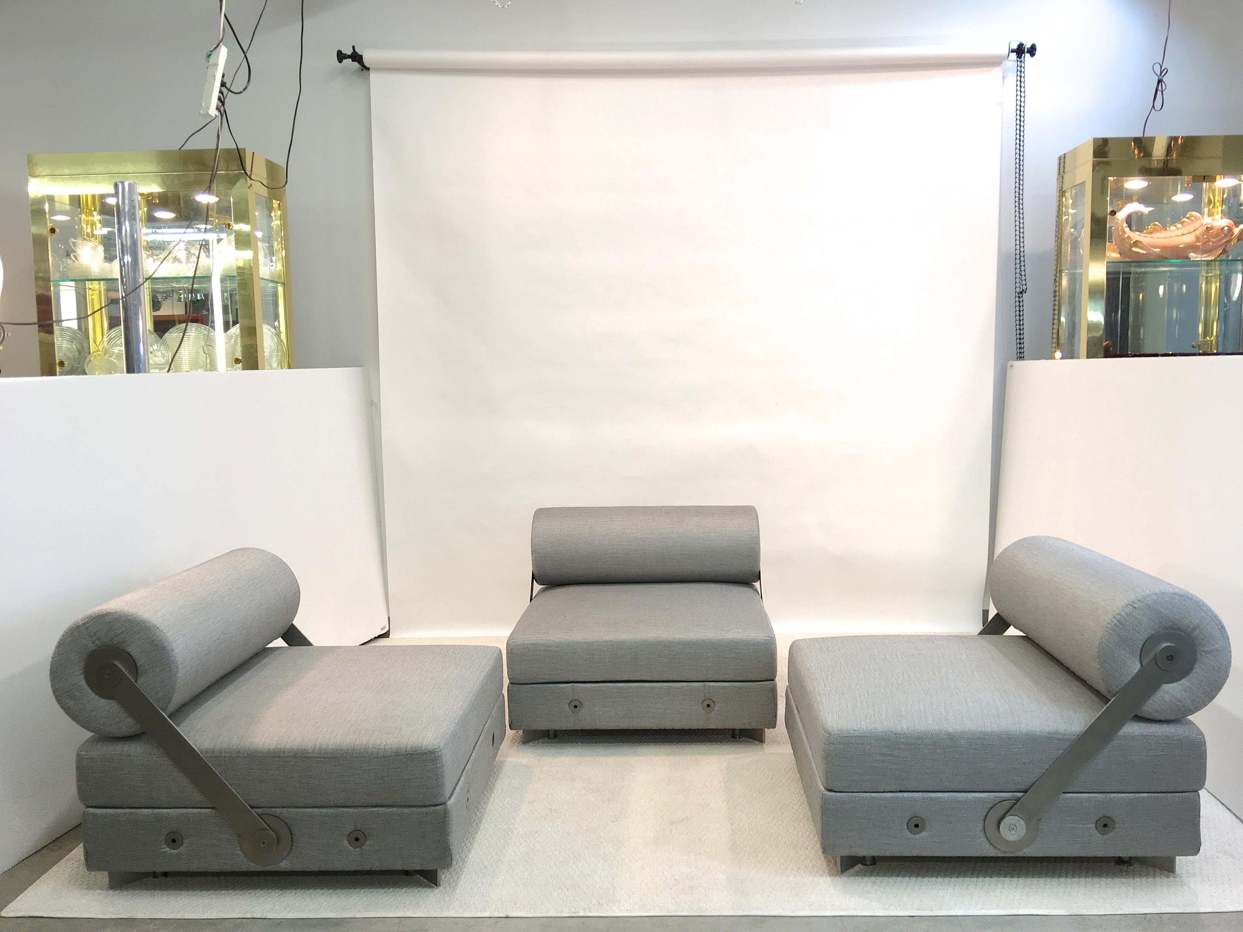 "Most Recent Todo Modo"" Modular Seating With Reversible Backrests For Sale At 1Stdibs For London Optical Reversible Sofa Chaise Sectionals (View 15 of 20)"