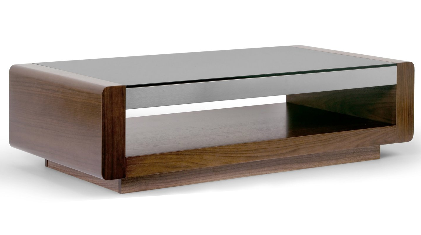 Featured Photo of Walnut Finish 6 Drawer Coffee Tables
