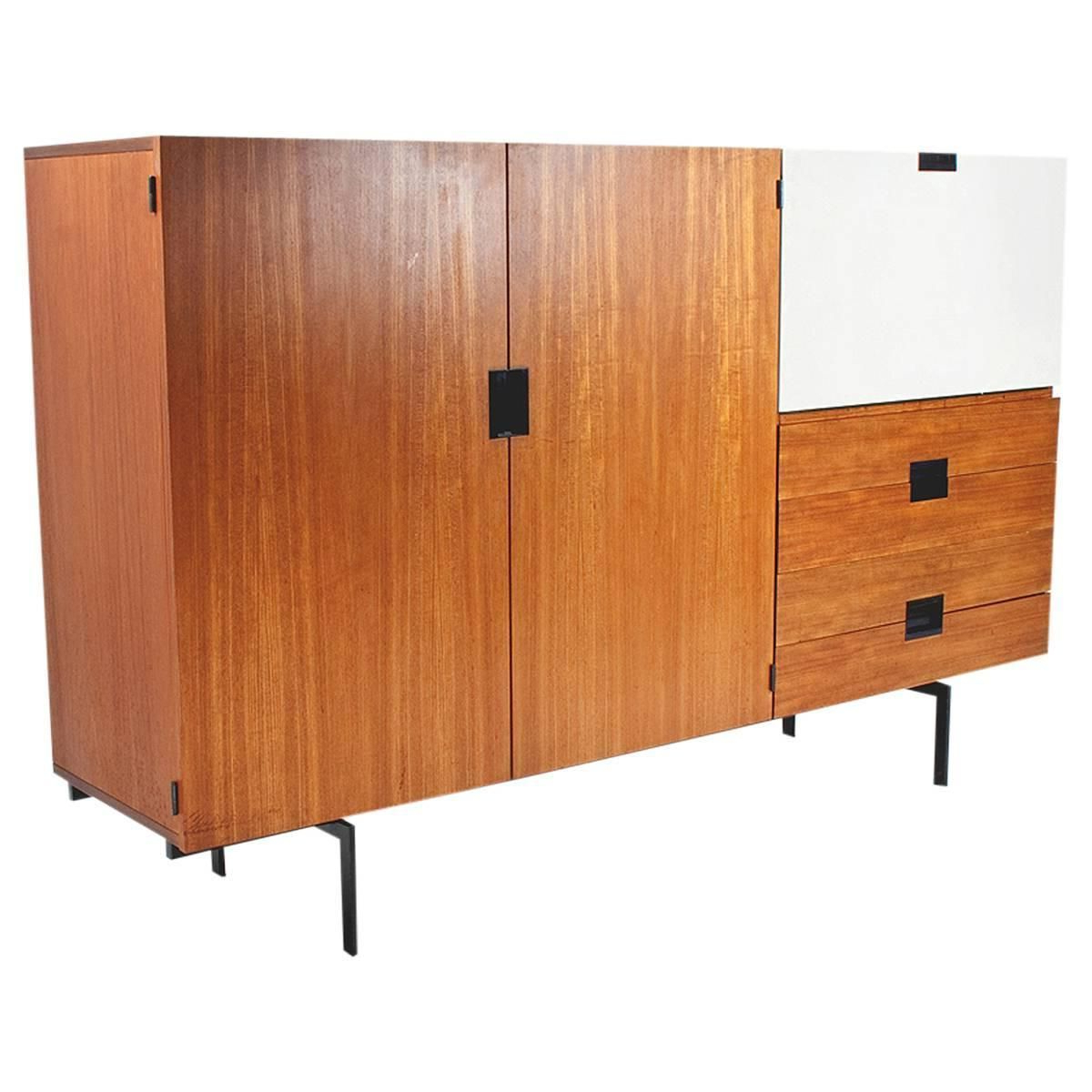 Most Recently Released 1958 Dutch Mid Century Modern High Boardpastoe Ums, Cees With Regard To Parrish Sideboards (View 10 of 20)