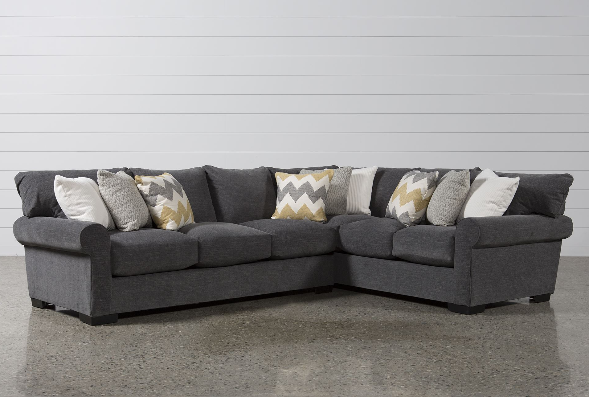 Most Recently Released 2 Piece Sectional Sofa (View 12 of 20)