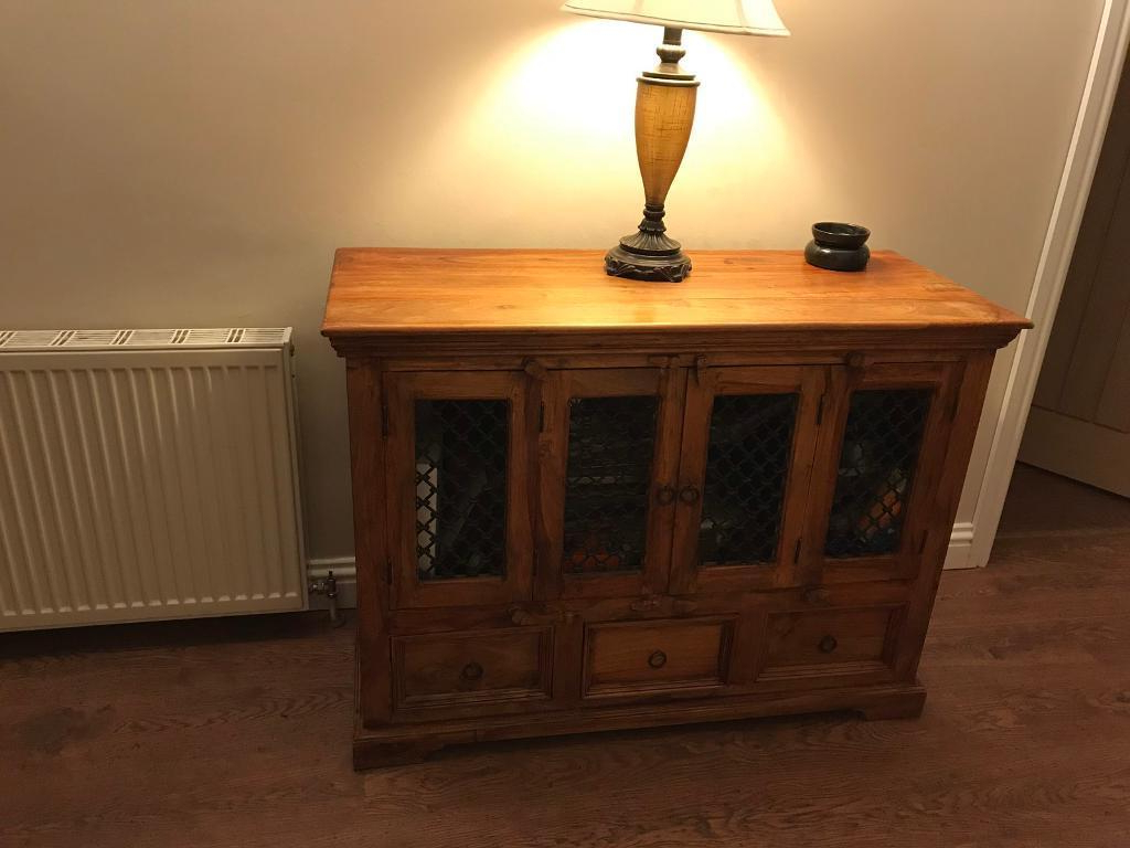 Most Recently Released 4 Door/4 Drawer Cast Jali Sideboards Intended For Jali/sheesham Indian Rosewood Sideboard (View 3 of 20)