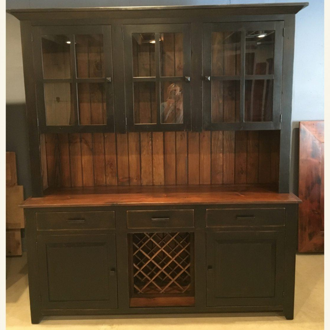 Most Recently Released 6′ Wine Hutch (Gallery 11 of 20)