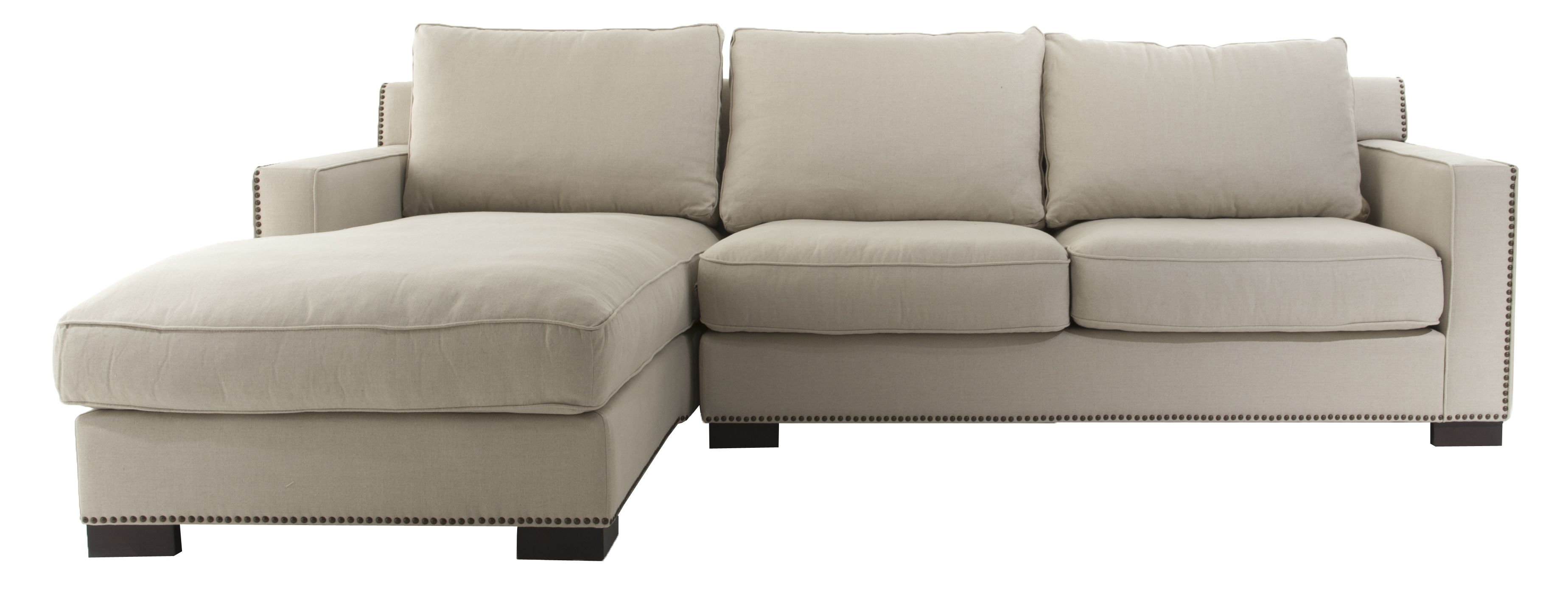 Most Recently Released Collins Sofa Sectionals With Reversible Chaise Pertaining To Collins Sectional :: Nail Head Detail And Fabric Options Are (View 9 of 20)