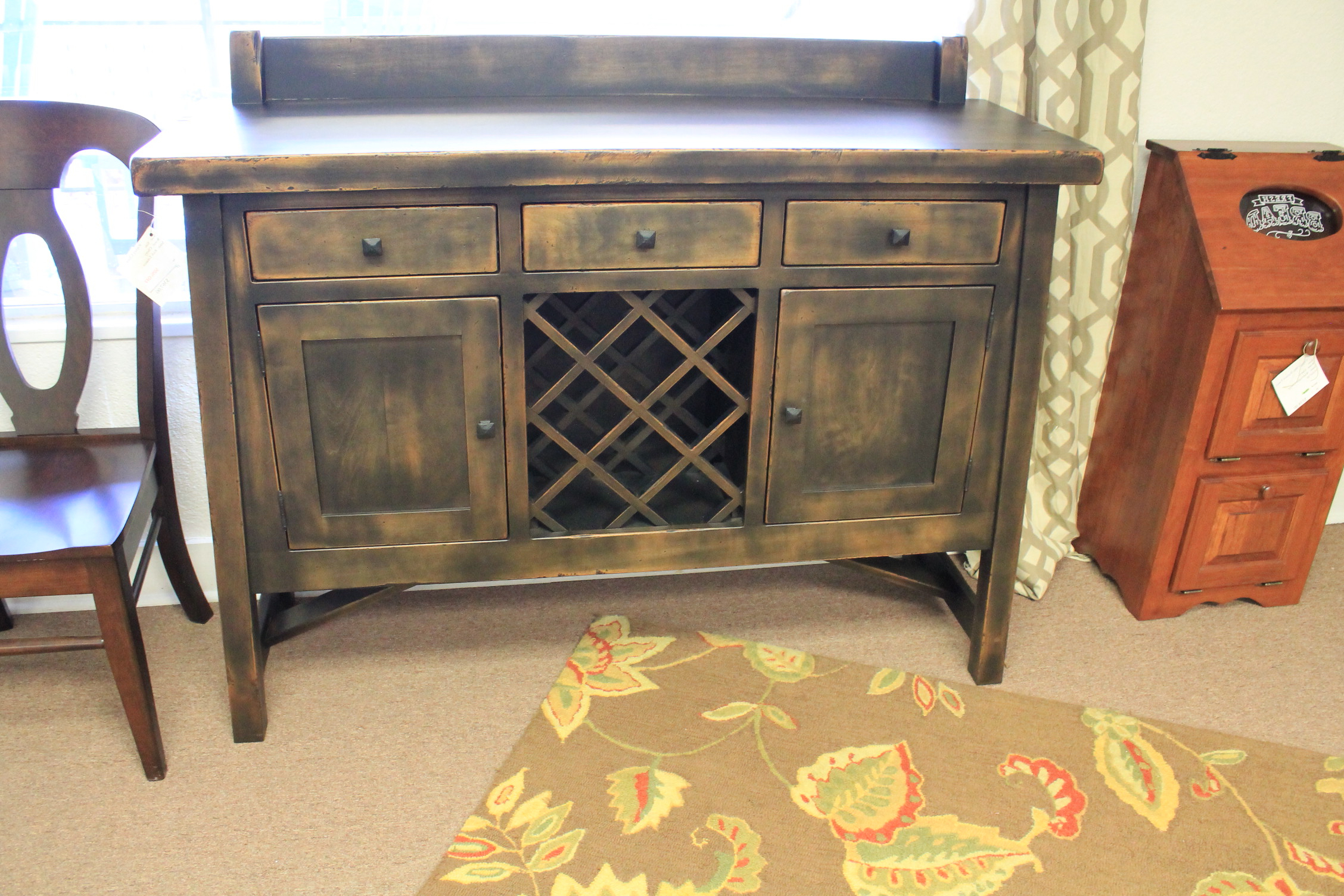 Most Recently Released Dawson Buffet – Amish Crafted Furniture In Burnt Oak Wood Sideboards (Gallery 20 of 20)