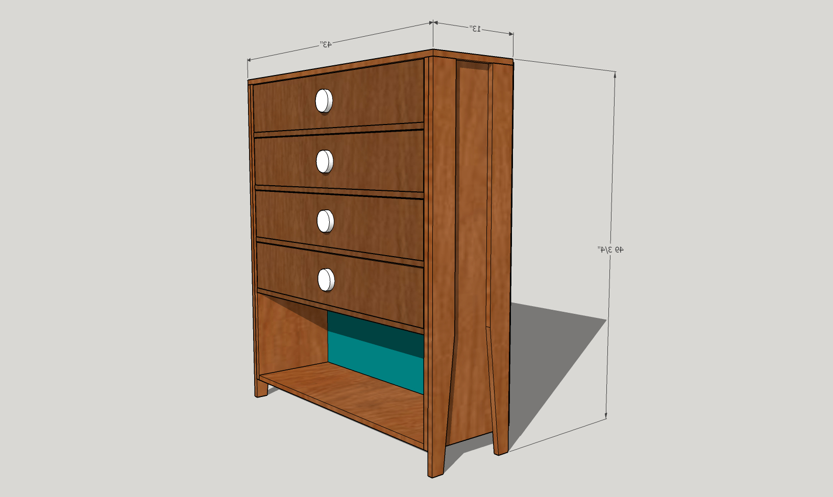 Most Recently Released Jigsaw Refinement Sideboards With Leggy Mid Century Dresser – Diy Modern Furniture (View 14 of 20)