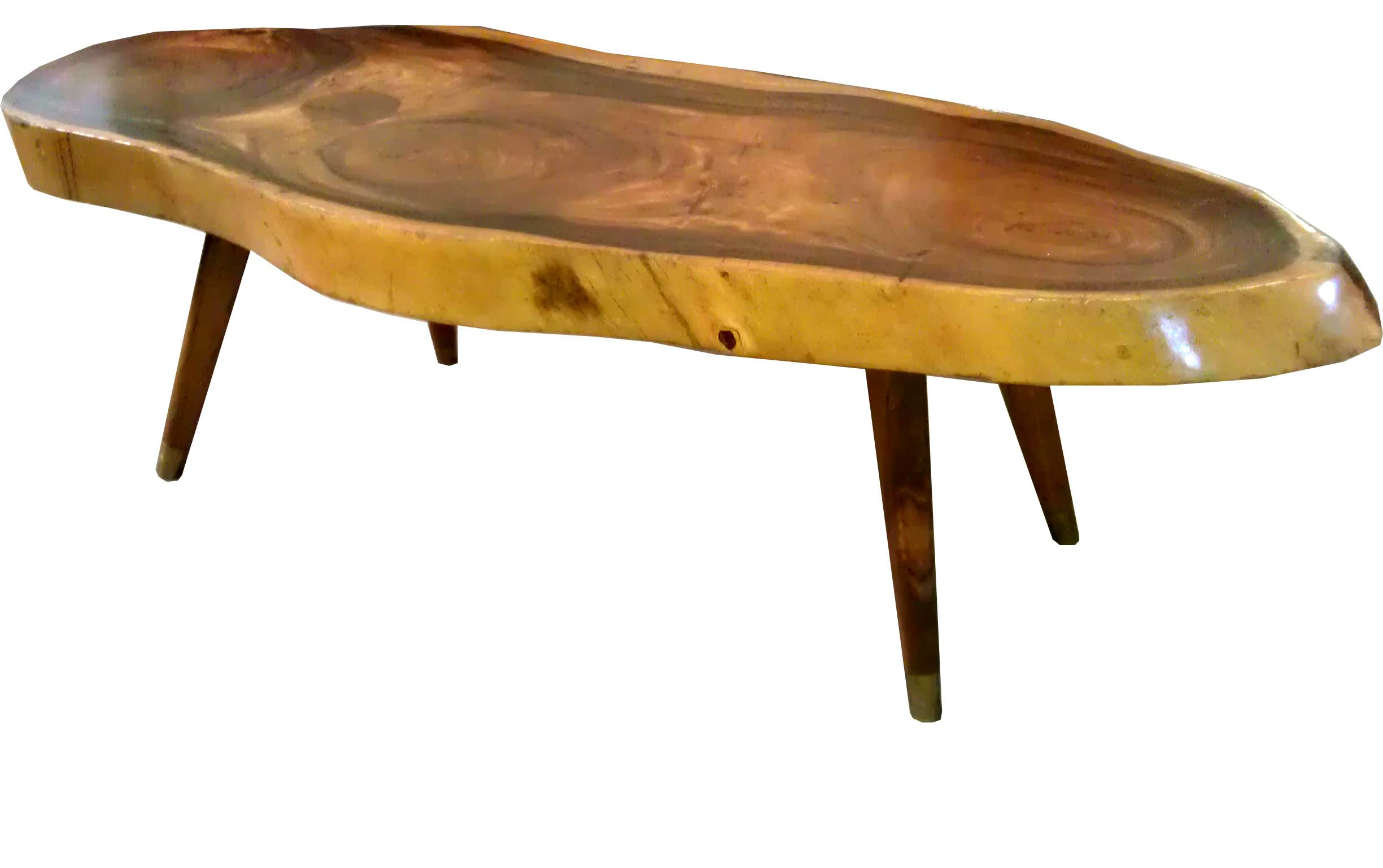 Most Recently Released Live Edge Teak Coffee Tables Throughout Coffee Table: Appealing Wood Slab Coffee Table In Your Room Wood (View 14 of 20)