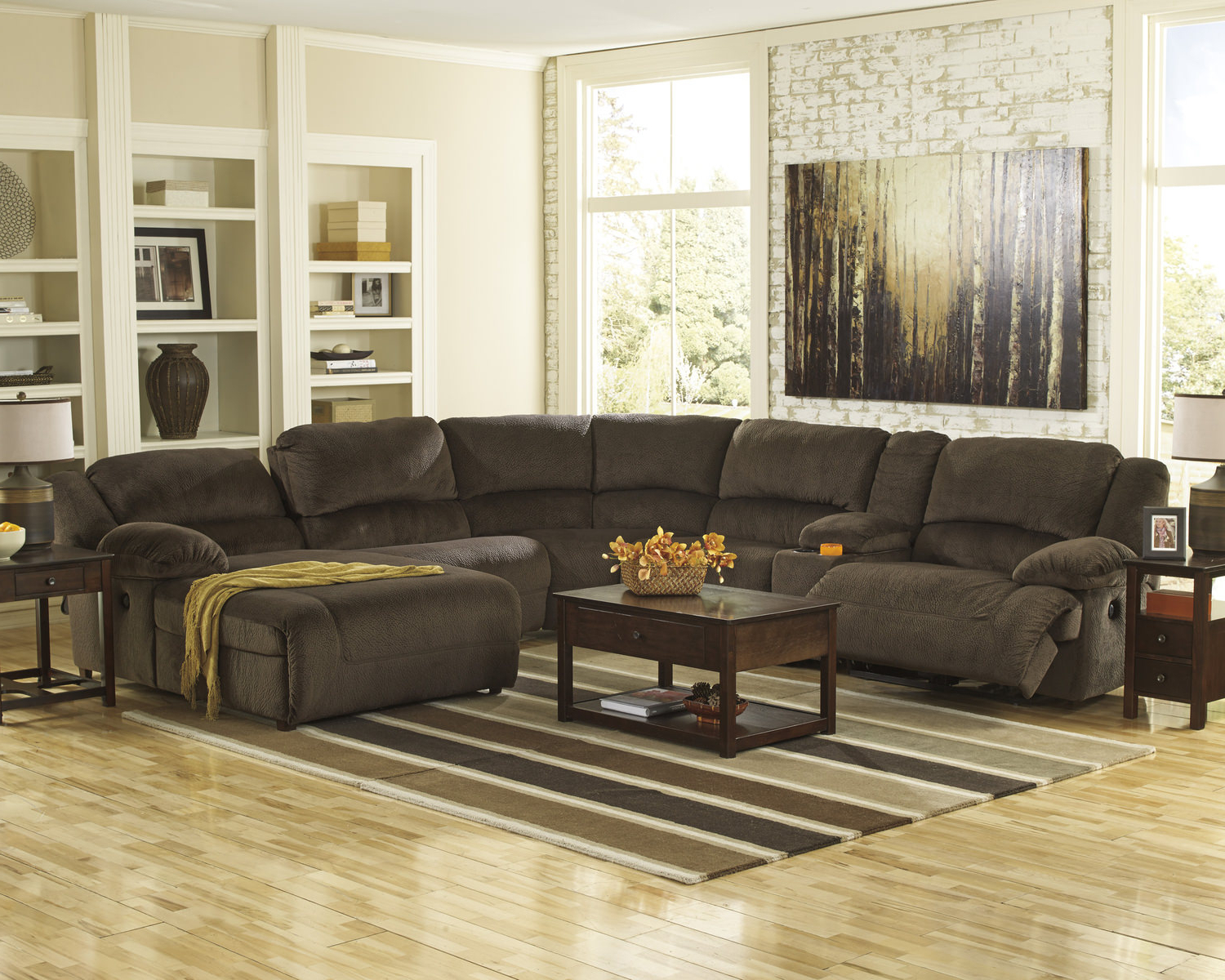 Most Recently Released Living Room Sectionals – Leather & Fabric – Dock 86 For Blaine 3 Piece Sectionals (Gallery 15 of 20)