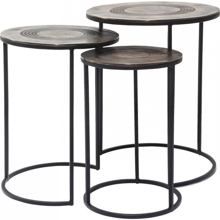 Most Recently Released Marrakesh Side Tables With Regard To Side Table Marrakesh (3/set) (View 13 of 20)