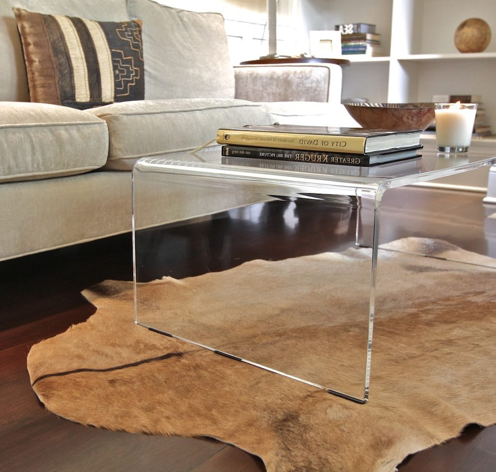 Most Recently Released Modern Acrylic Coffee Tables Pertaining To Amazing Of Acrylic Coffee Tables With Lucite Coffee Table Modern (View 17 of 20)