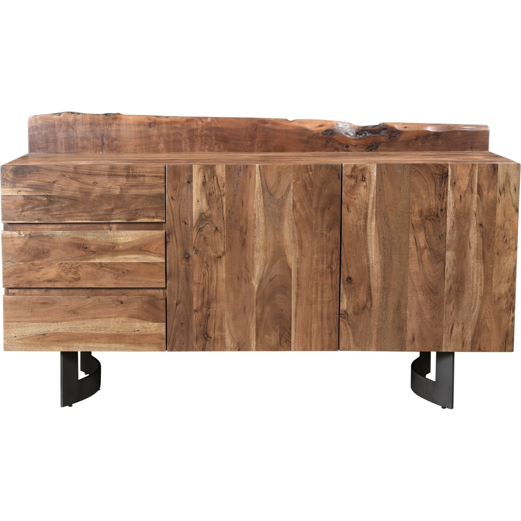 Most Recently Released Shop Aurelle Home Farmhouse Wood Rustic Sideboard – On Sale – Free For Reclaimed Elm 91 Inch Sideboards (View 11 of 20)