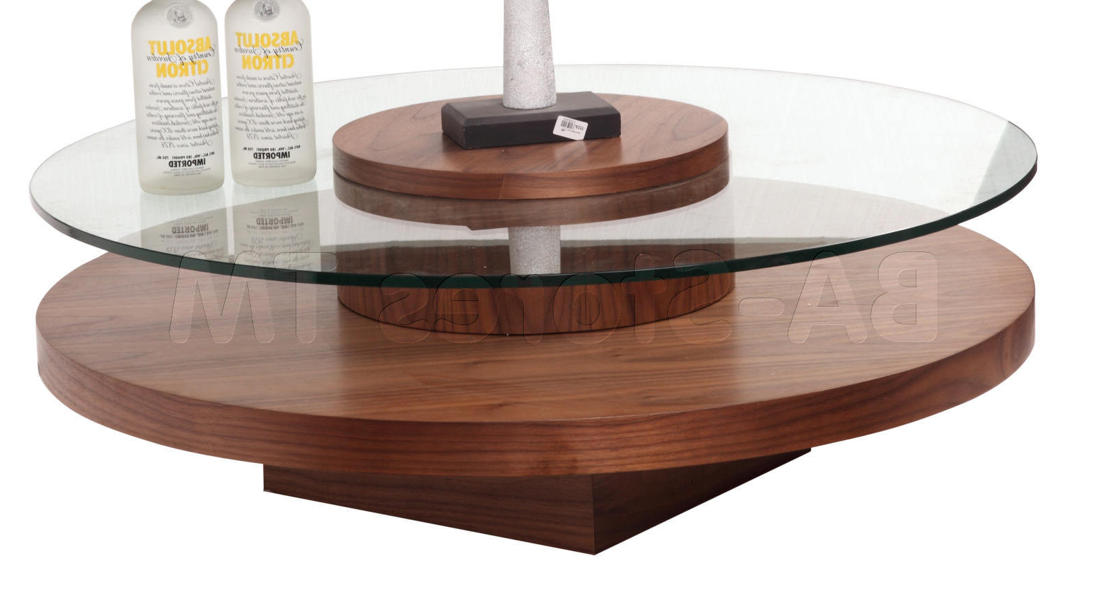 Most Recently Released Spin Rotating Coffee Tables Regarding Spinning Glass Coffee Table – Coffee Table Ideas (View 11 of 20)