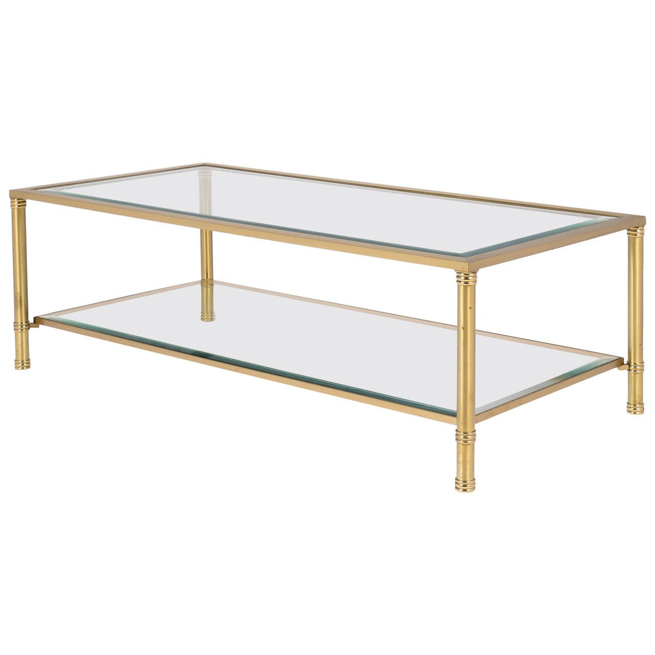 Most Up To Date Antique Brass Coffee Tables Throughout French Vintage Brass Coffee Table At 1stdibs (View 2 of 20)