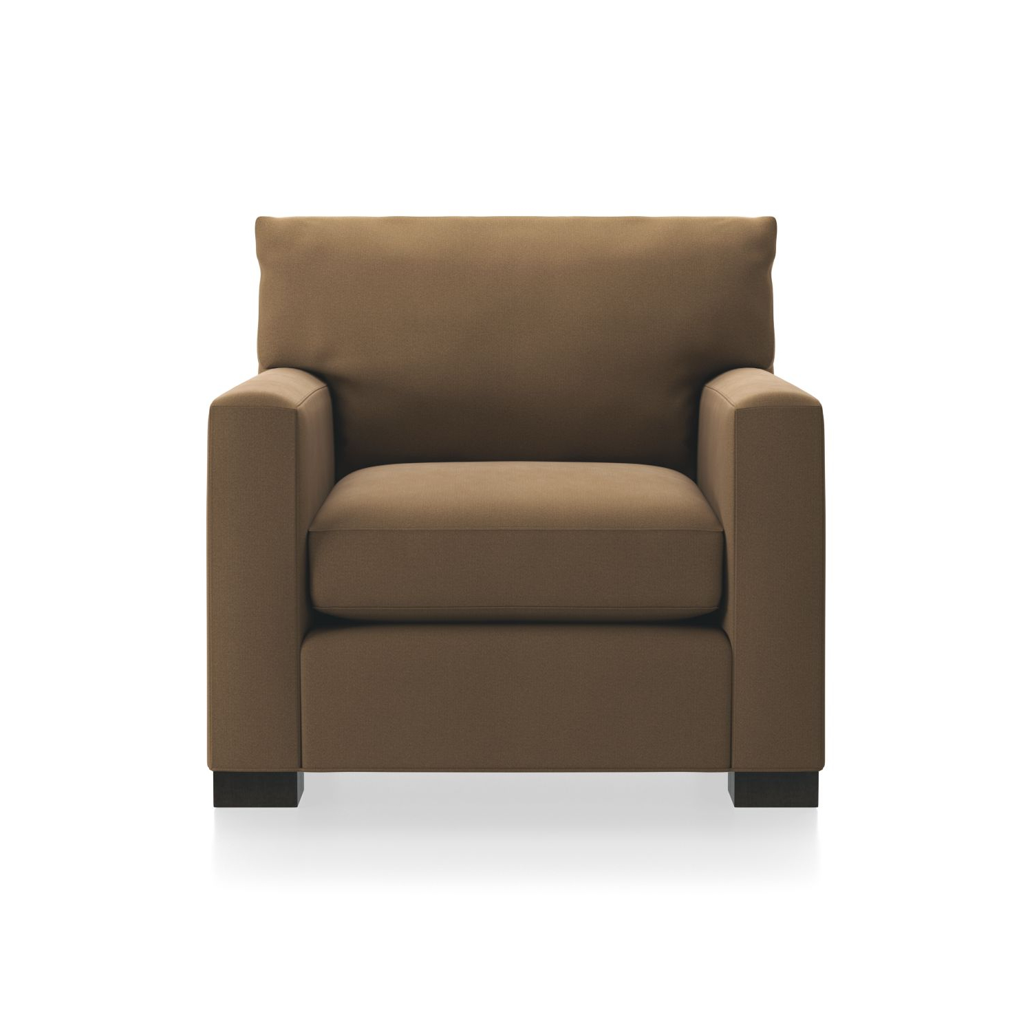 Most Up To Date Axis Cocktail Tables Inside Axis Ii Brown 3 Seat Sofa + Reviews (View 20 of 20)