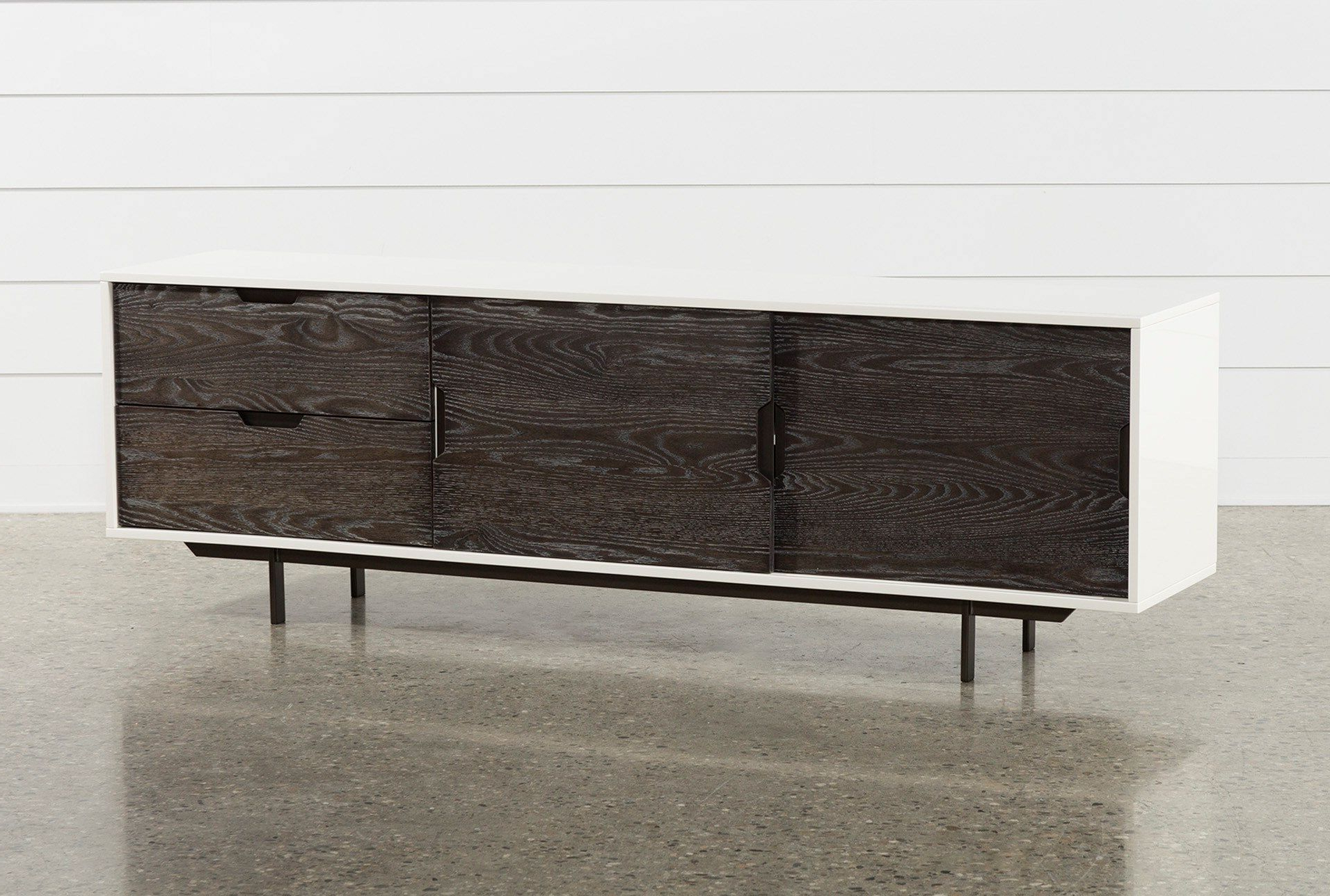 Most Up To Date Bale Rustic Grey 82 Inch Tv Stand In (View 4 of 20)