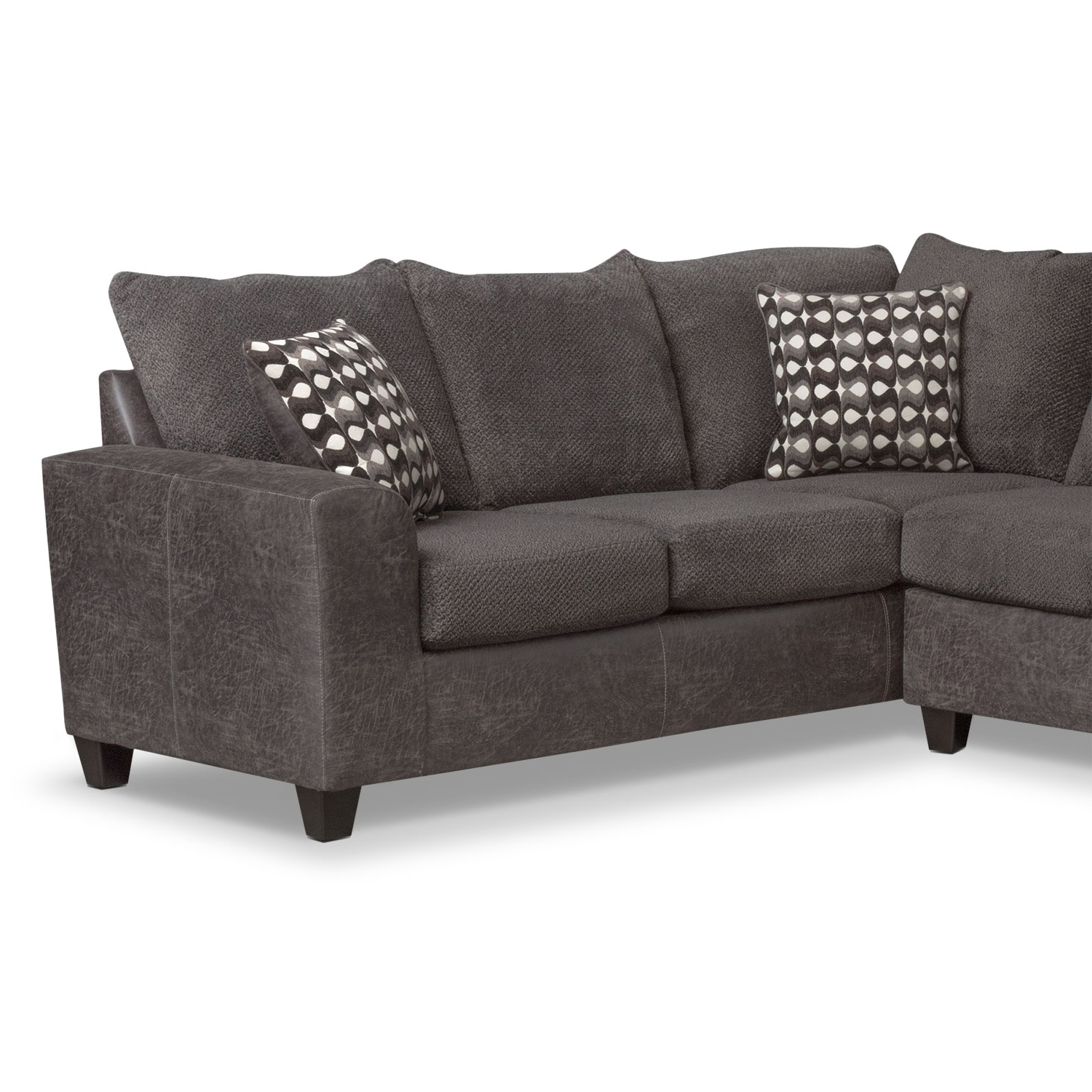 Most Up To Date Brando 3 Piece Sectional With Modular Chaise (View 10 of 20)