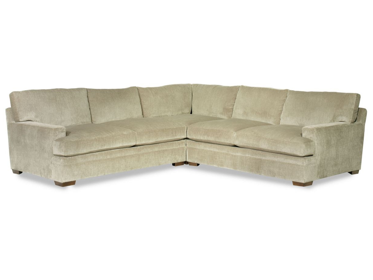 Most Up To Date Delano Smoke 3 Piece Sectionals Within Aria Designs Wentworth 3 Piece Fabric Sectional In Sand (Gallery 18 of 20)