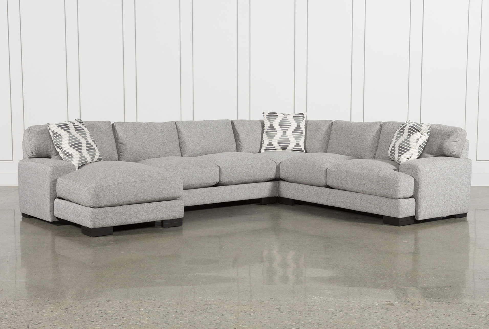 Most Up To Date Harper Foam 3 Piece Sectionals With Raf Chaise With Regard To Harper Foam 3 Piece Sectional W/raf Chaise (View 13 of 20)