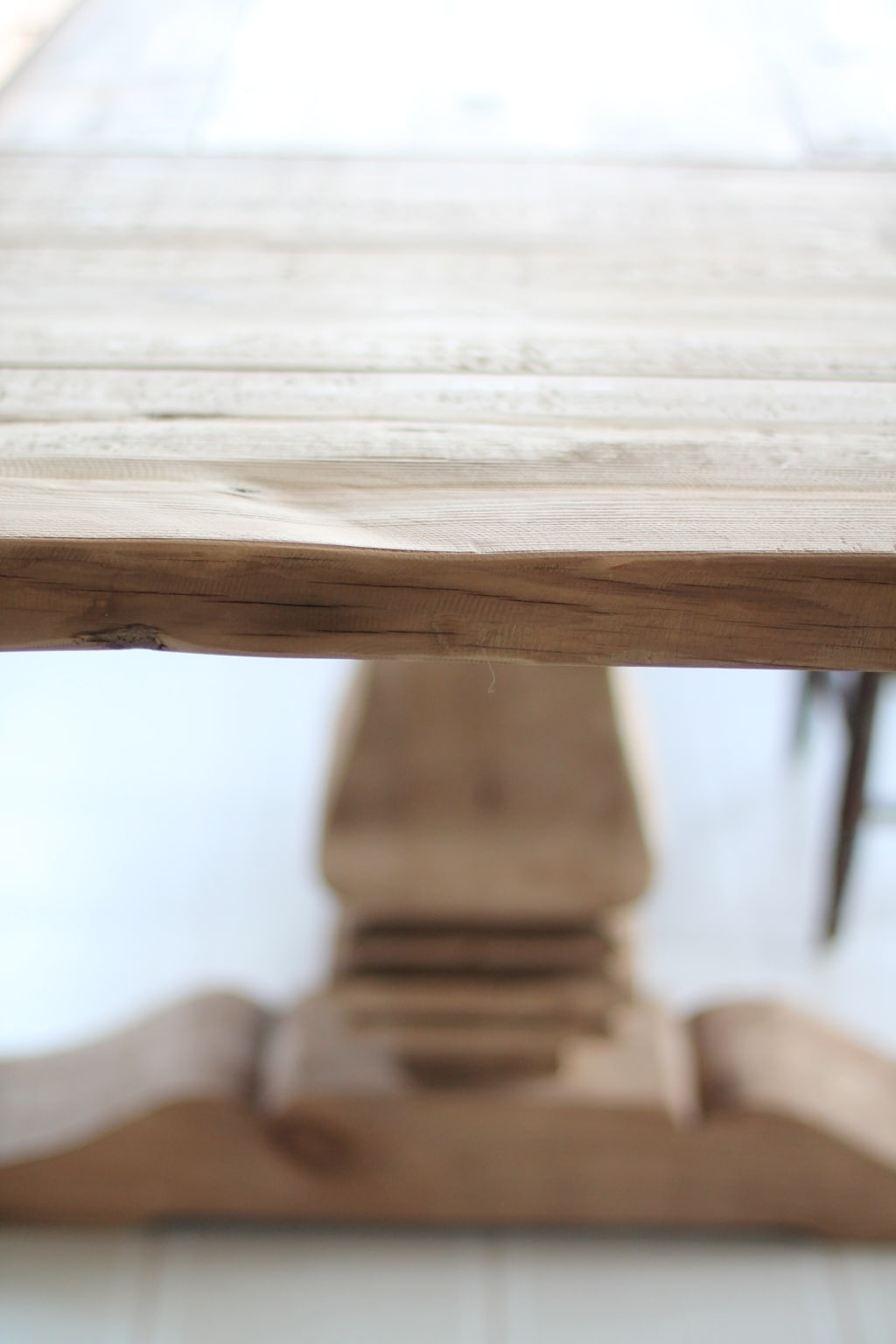 Most Up To Date Light Brown Reclaimed Elm & Pine 84 Inch Sideboards Throughout Restoration Hardware Dining Table Finishes & Ways To Protect It (View 13 of 20)