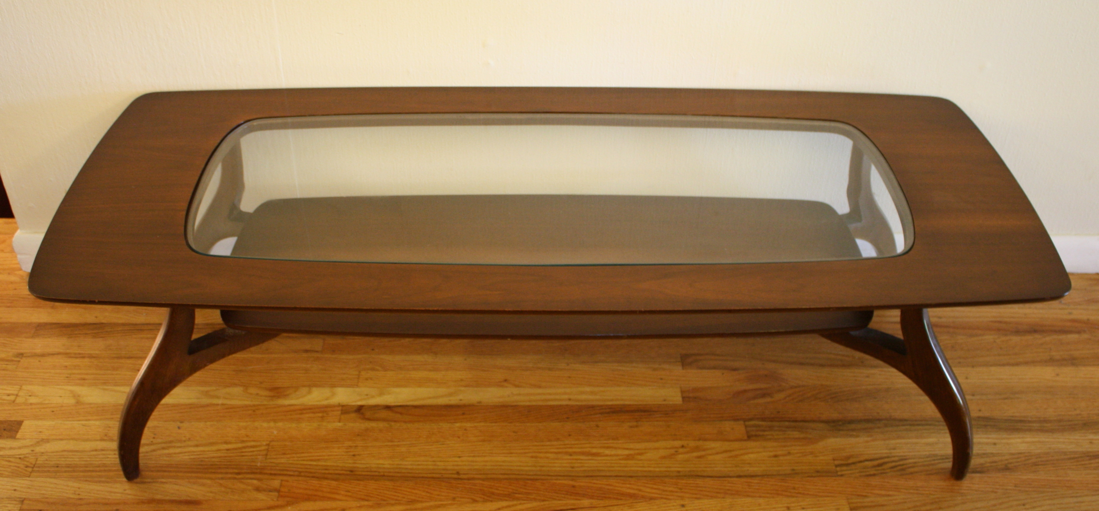 Most Up To Date Mcm Coffee Table Glass Top  (View 11 of 20)