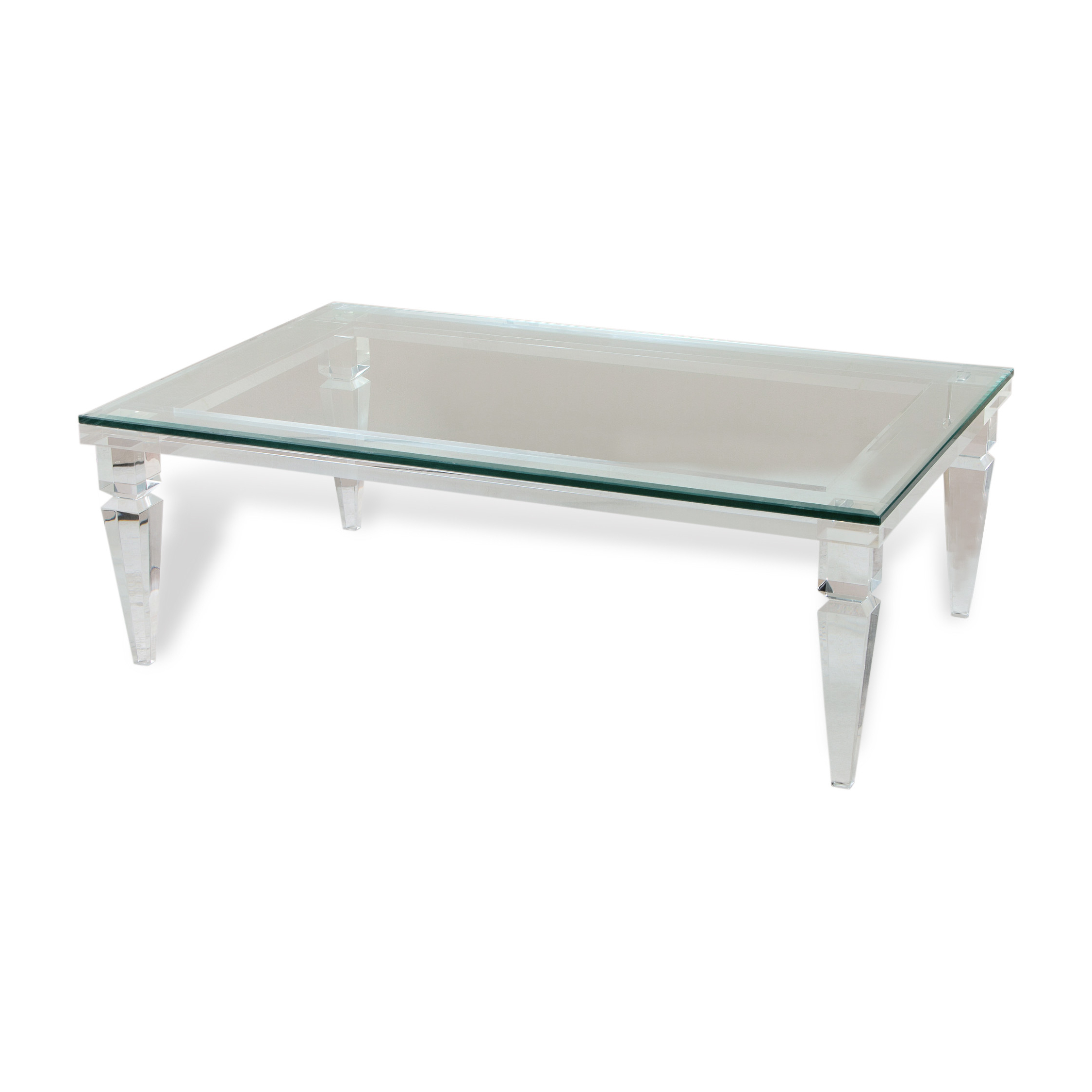 Most Up To Date Peekaboo Acrylic Tall Coffee Tables Within Coffee Table: Gallery Photos Of Acrylic Coffee Table Muniz Acrylic (View 16 of 20)
